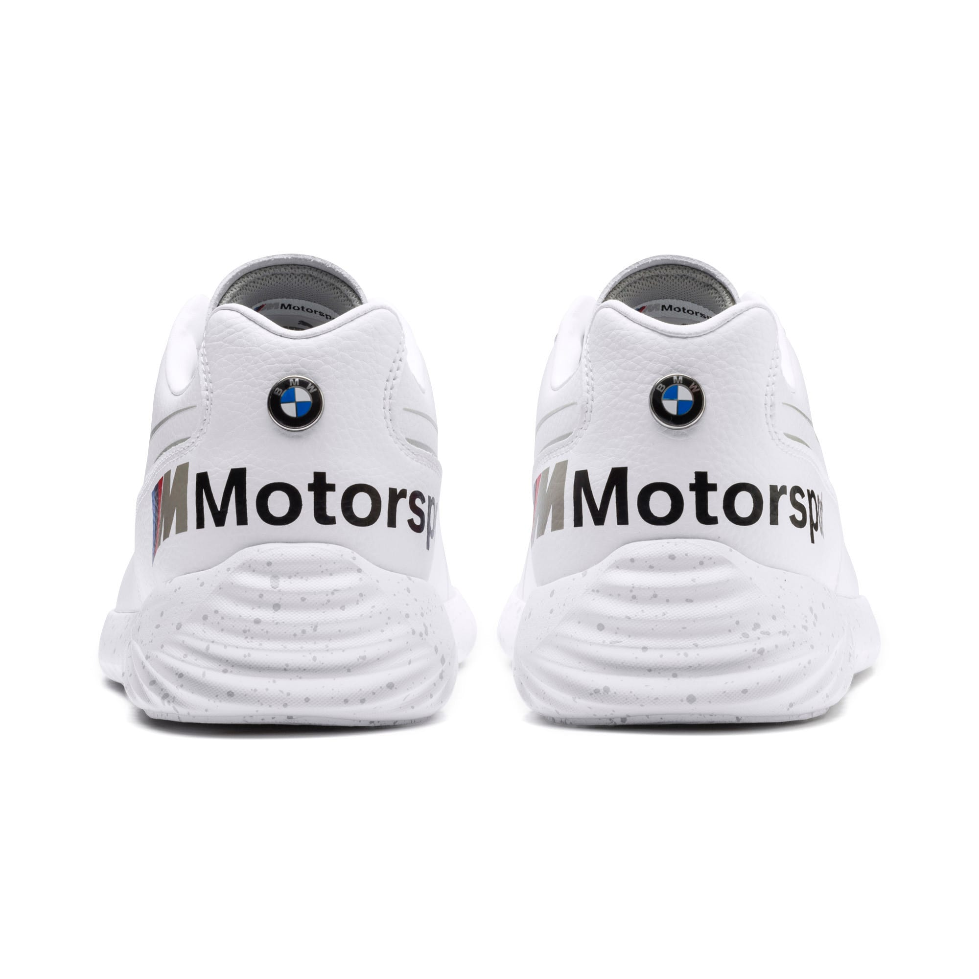 Thumbnail 4 of BMW M Motorsport Speedcat Evo Shoes, Puma White-Puma White, medium