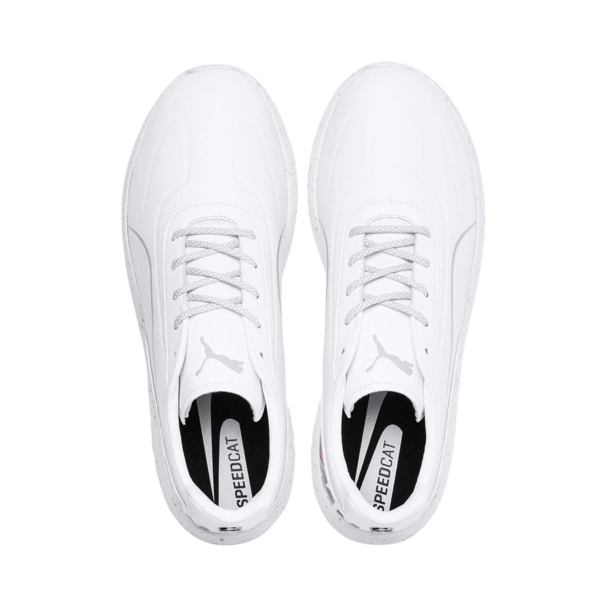 Thumbnail 6 of BMW M Motorsport Speedcat Evo Shoes, Puma White-Puma White, medium