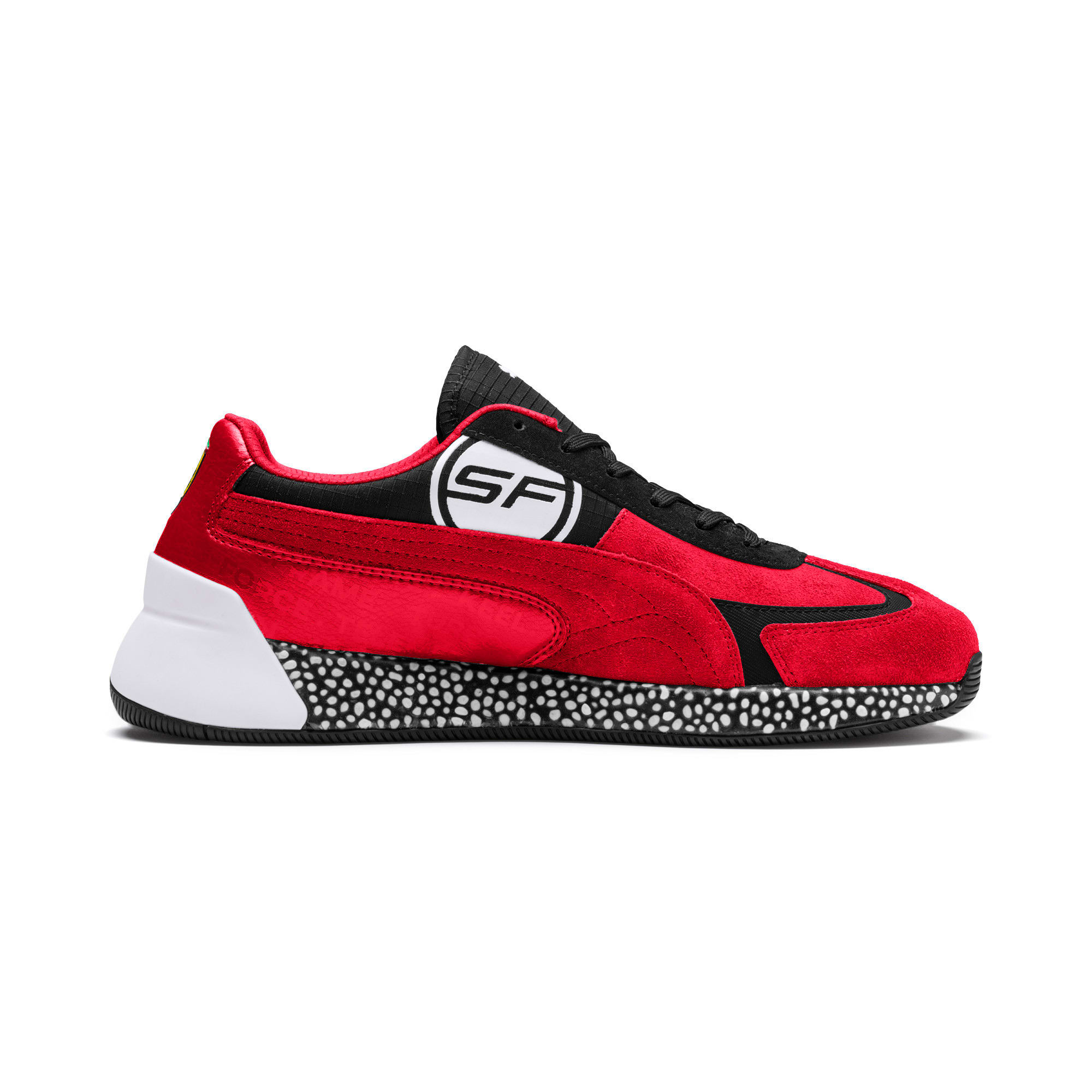 Thumbnail 6 van Ferrari Speed HYBRID sneakers voor mannen, Rosso Corsa-White-Black, medium