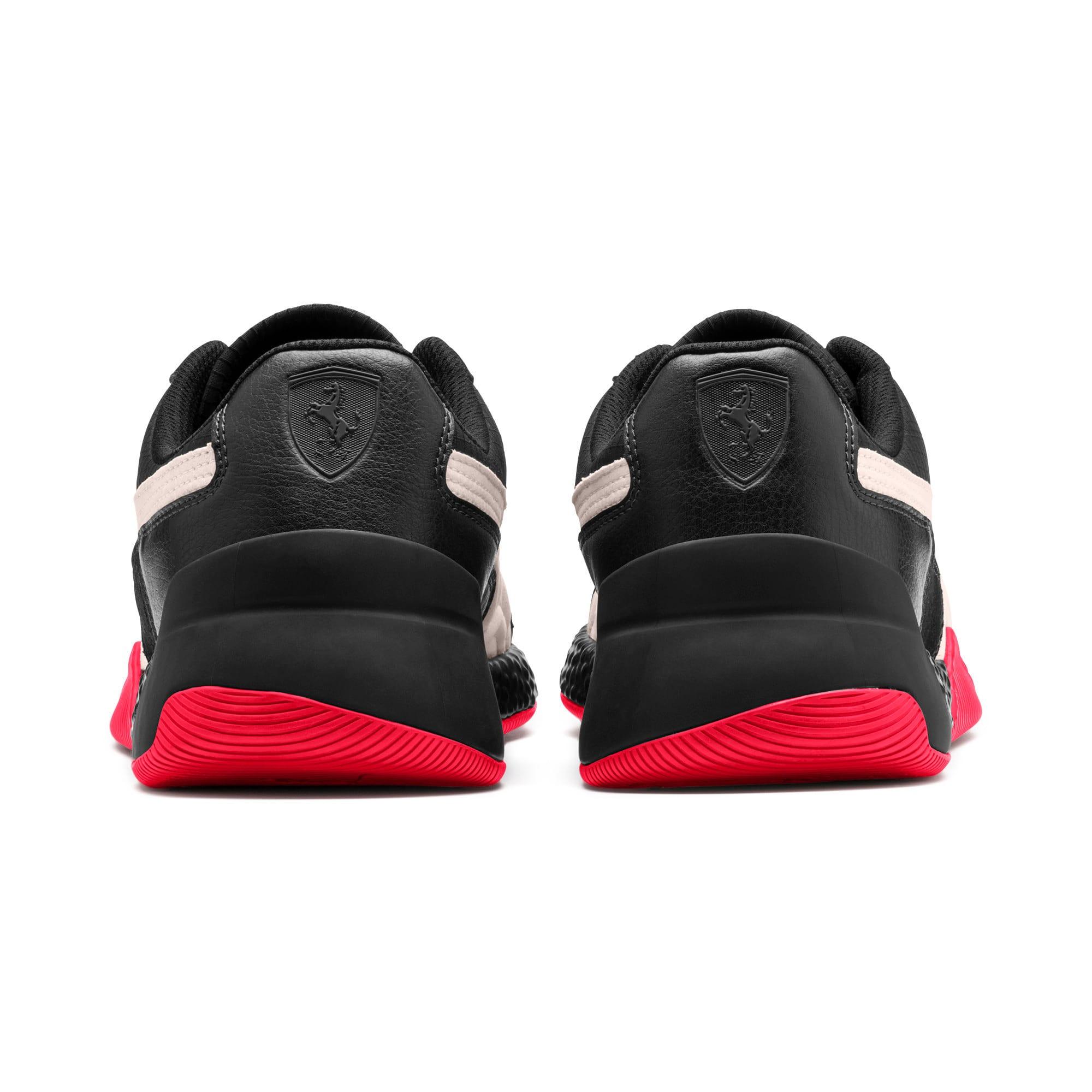Miniatura 4 de Zapatos Scuderia Ferrari Speed Hybrid LS, Blk-Pstl Prchmnt-Rosso Corsa, mediano