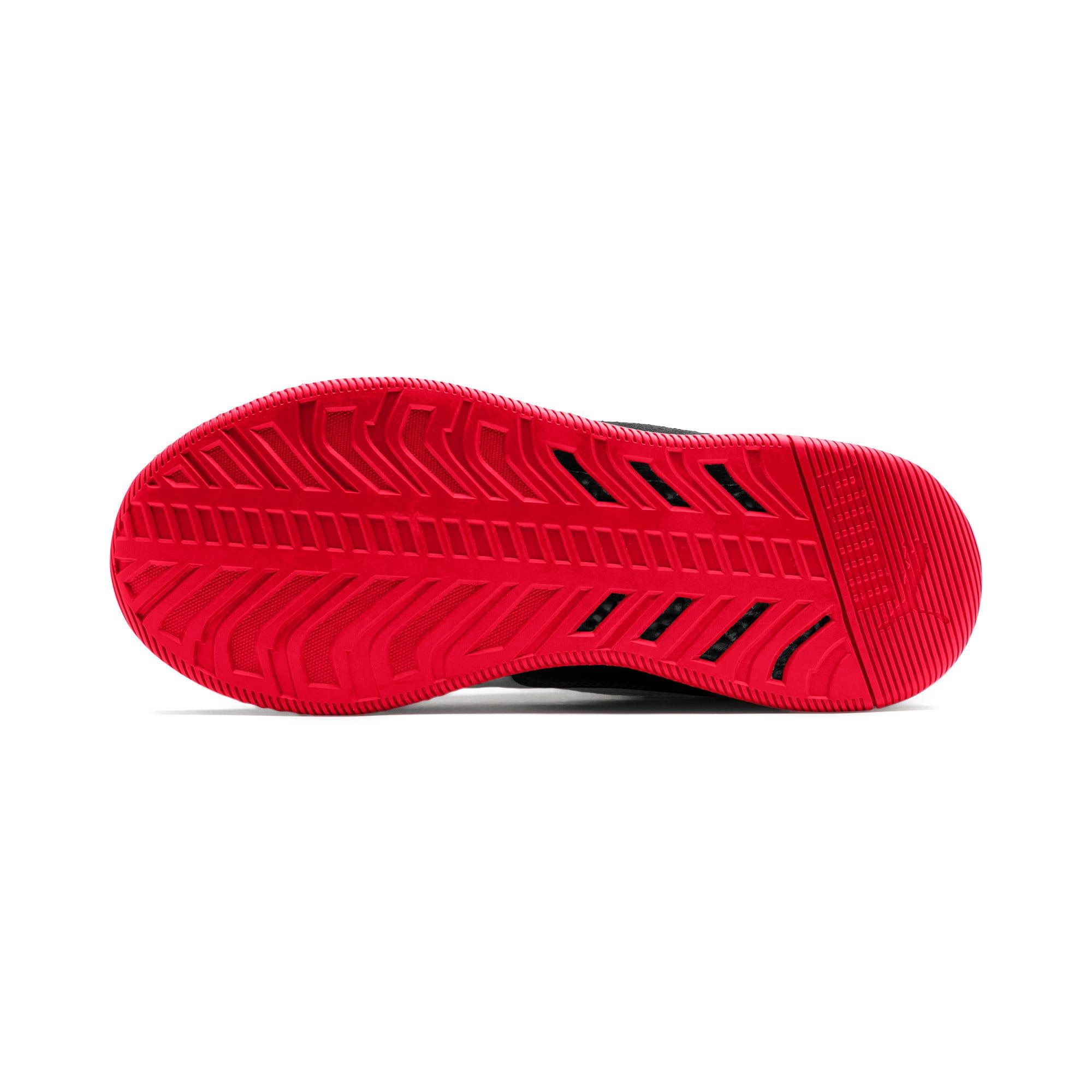 Thumbnail 5 of Ferrari Speed HYBRID LS Herren Sneaker, Blk-Pstl Prchmnt-Rosso Corsa, medium