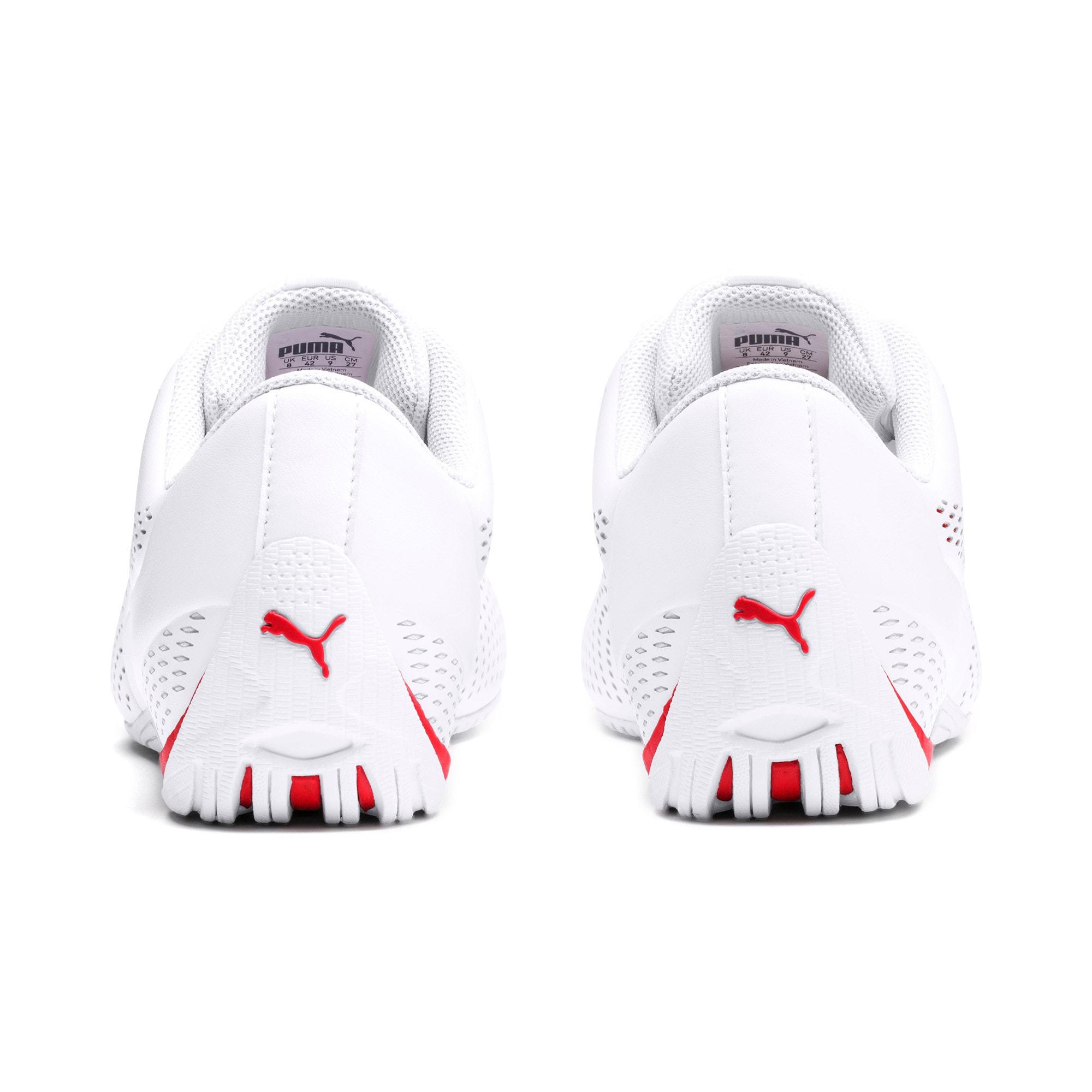 Thumbnail 3 of Scuderia Ferrari Drift Cat 5 Ultra II Men's Shoes, Puma White-Rosso Corsa, medium