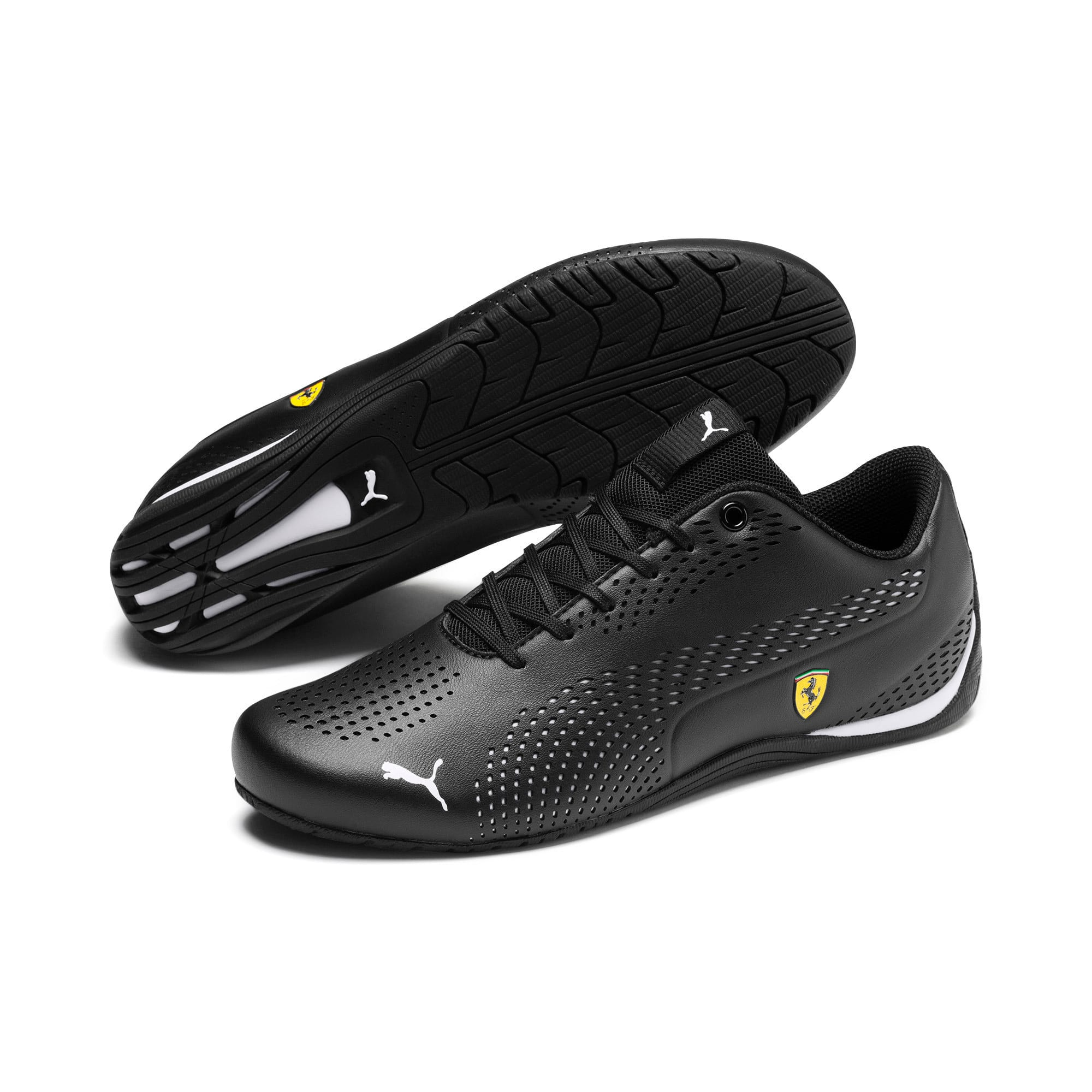 Thumbnail 3 of Ferrari Drift Cat 5 Ultra II Trainers, Puma Black-Puma White, medium
