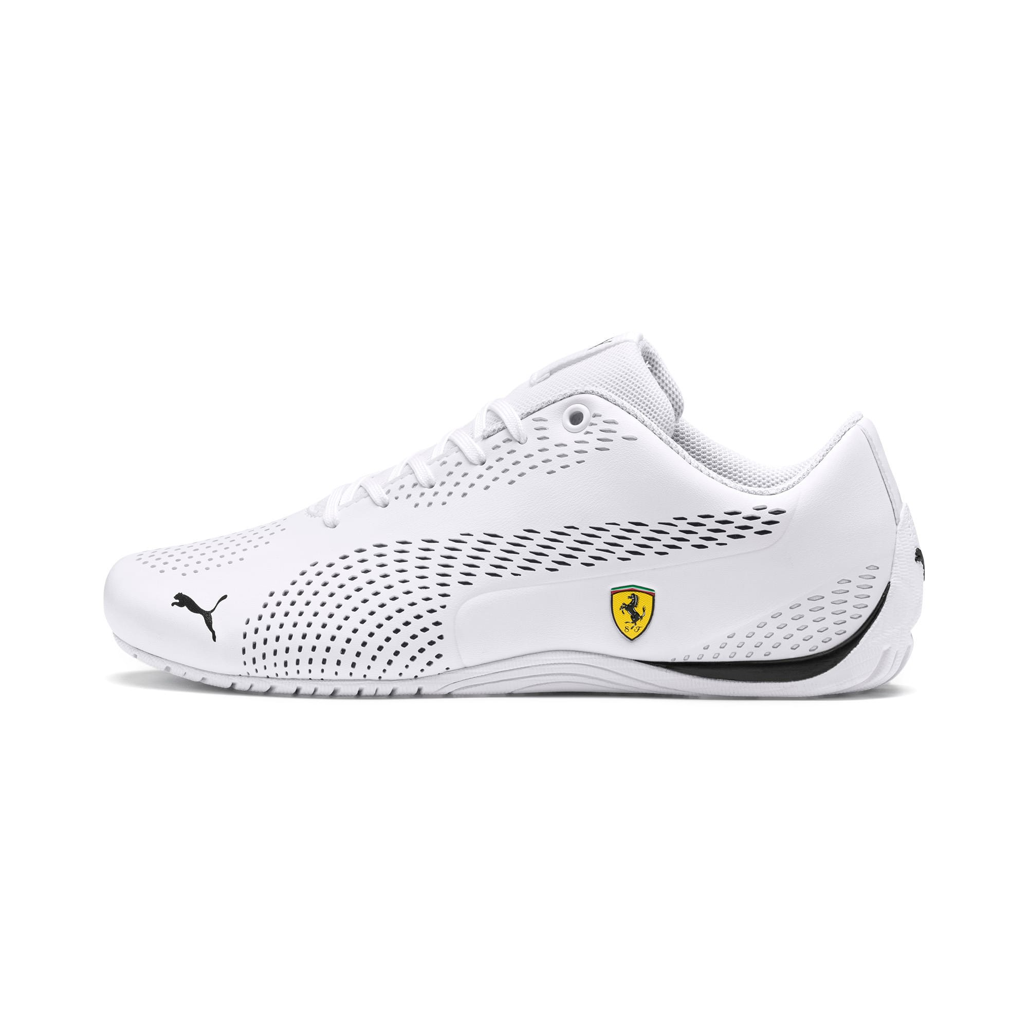 Thumbnail 1 van Ferrari Drift Cat 5 Ultra II sneakers, Puma wit-Puma zwart, medium