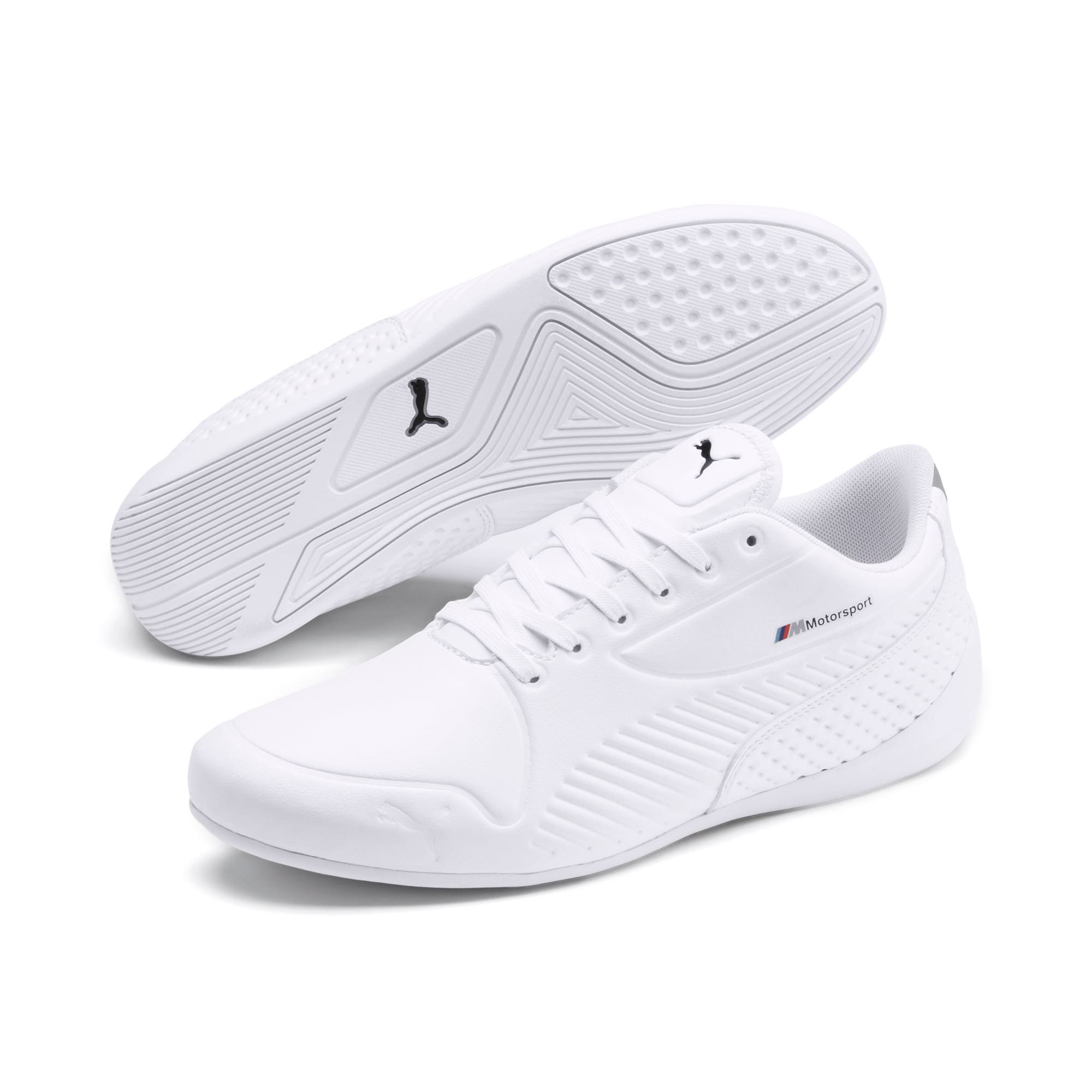 Thumbnail 3 of BMW M Motorsport Drift Cat 7S Ultra Shoes, Puma White-Puma Black, medium