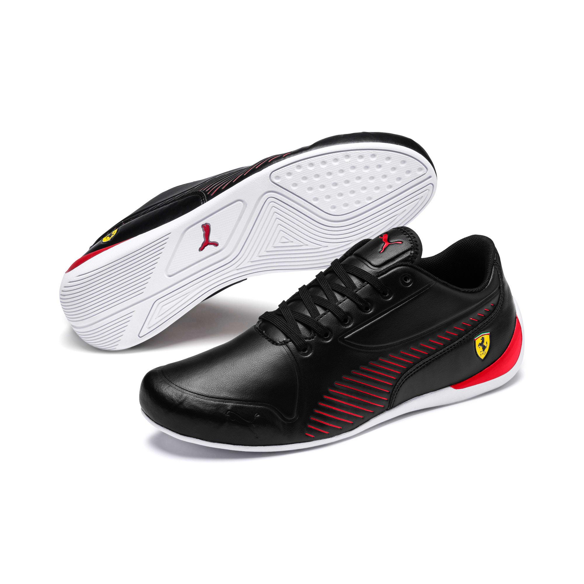 Thumbnail 2 of Scuderia Ferrari Drift Cat 7S Ultra Men's Shoes, Puma Black-Rosso Corsa, medium