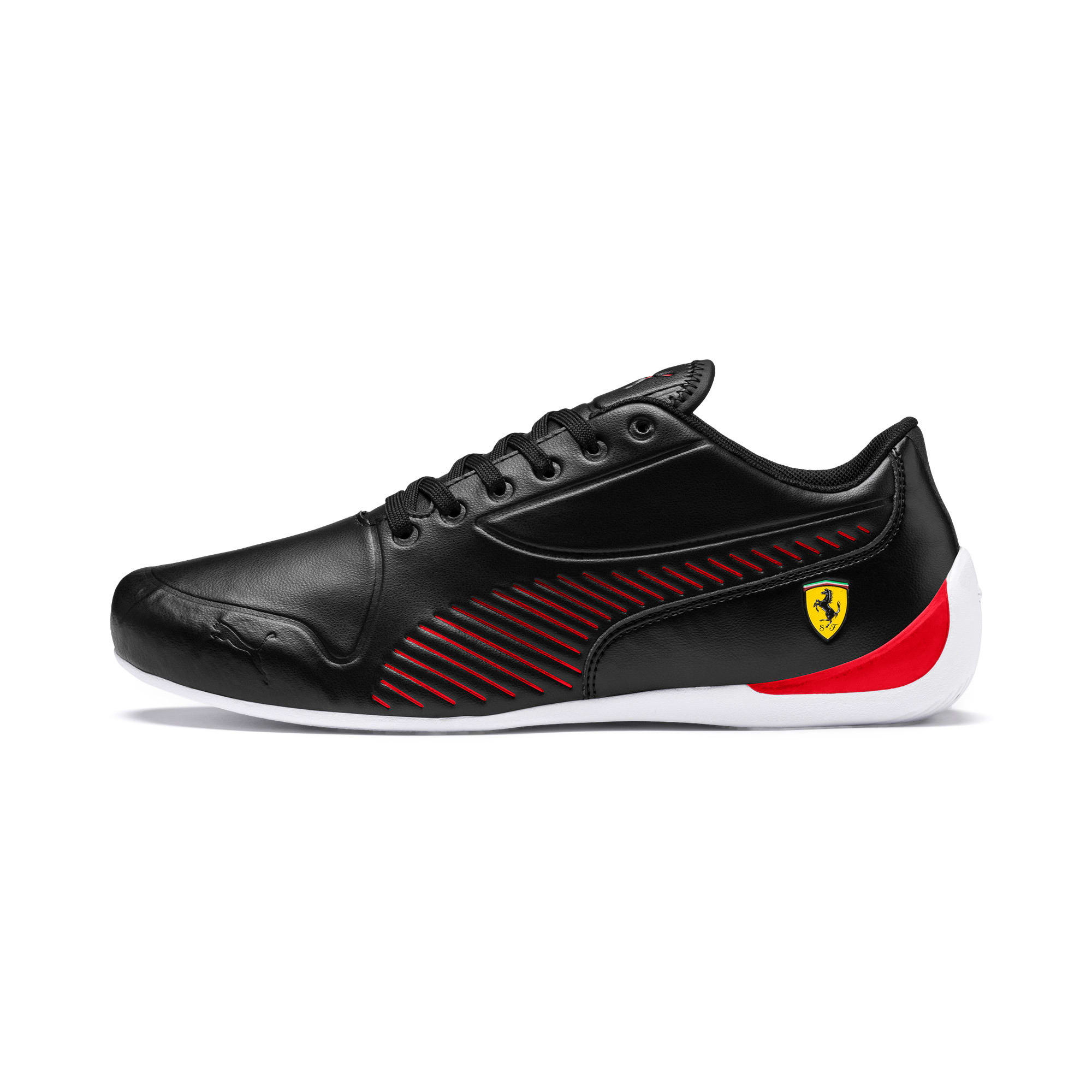Miniatura 1 de Zapatos Scuderia Ferrari Drift Cat 7S Ultra para hombre, Puma Black-Rosso Corsa, mediano