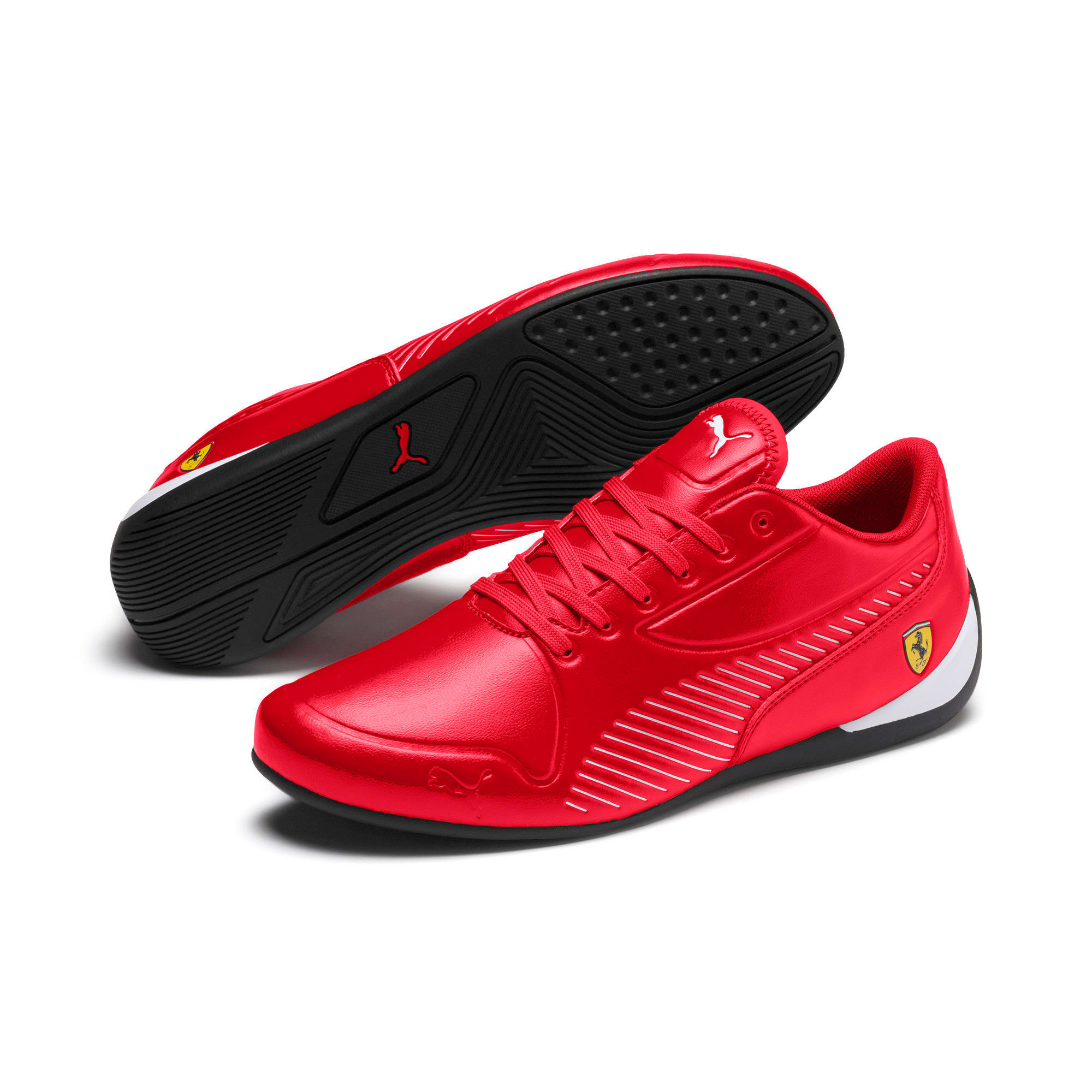 Thumbnail 2 of Scuderia Ferrari Drift Cat 7S Ultra Men's Shoes, Rosso Corsa-Puma White, medium