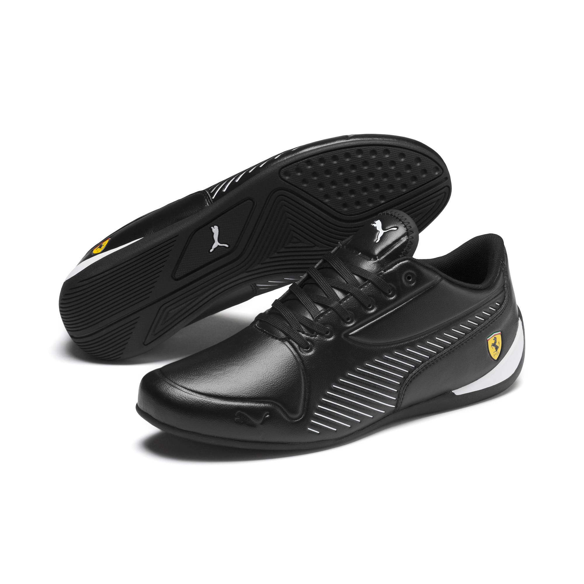 Thumbnail 3 of Scuderia Ferrari Drift Cat 7S Ultra Men's Shoes, Puma Black-Puma White, medium