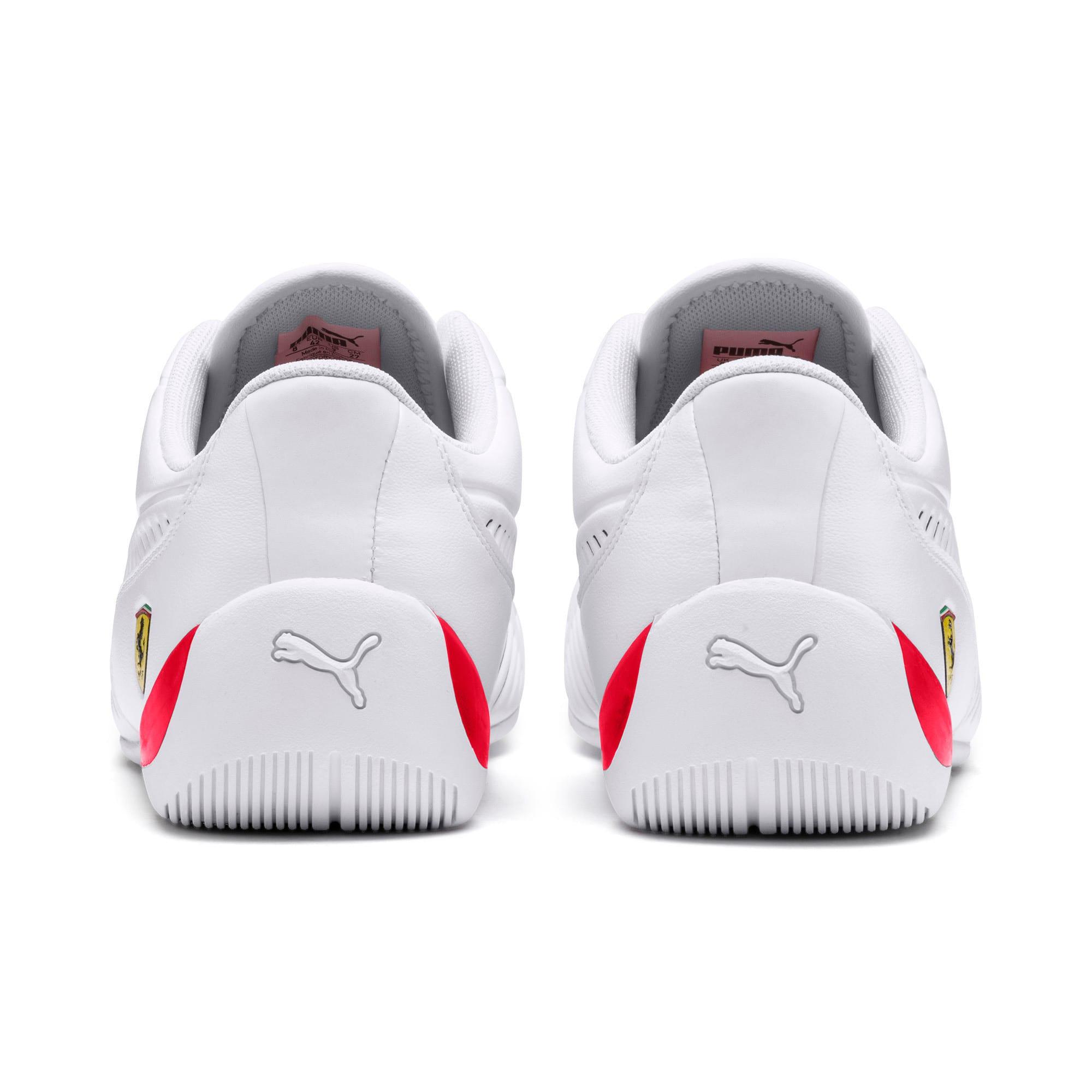 Thumbnail 5 of Scuderia Ferrari Drift Cat 7S Ultra Men's Shoes, Puma White-Rosso Corsa, medium