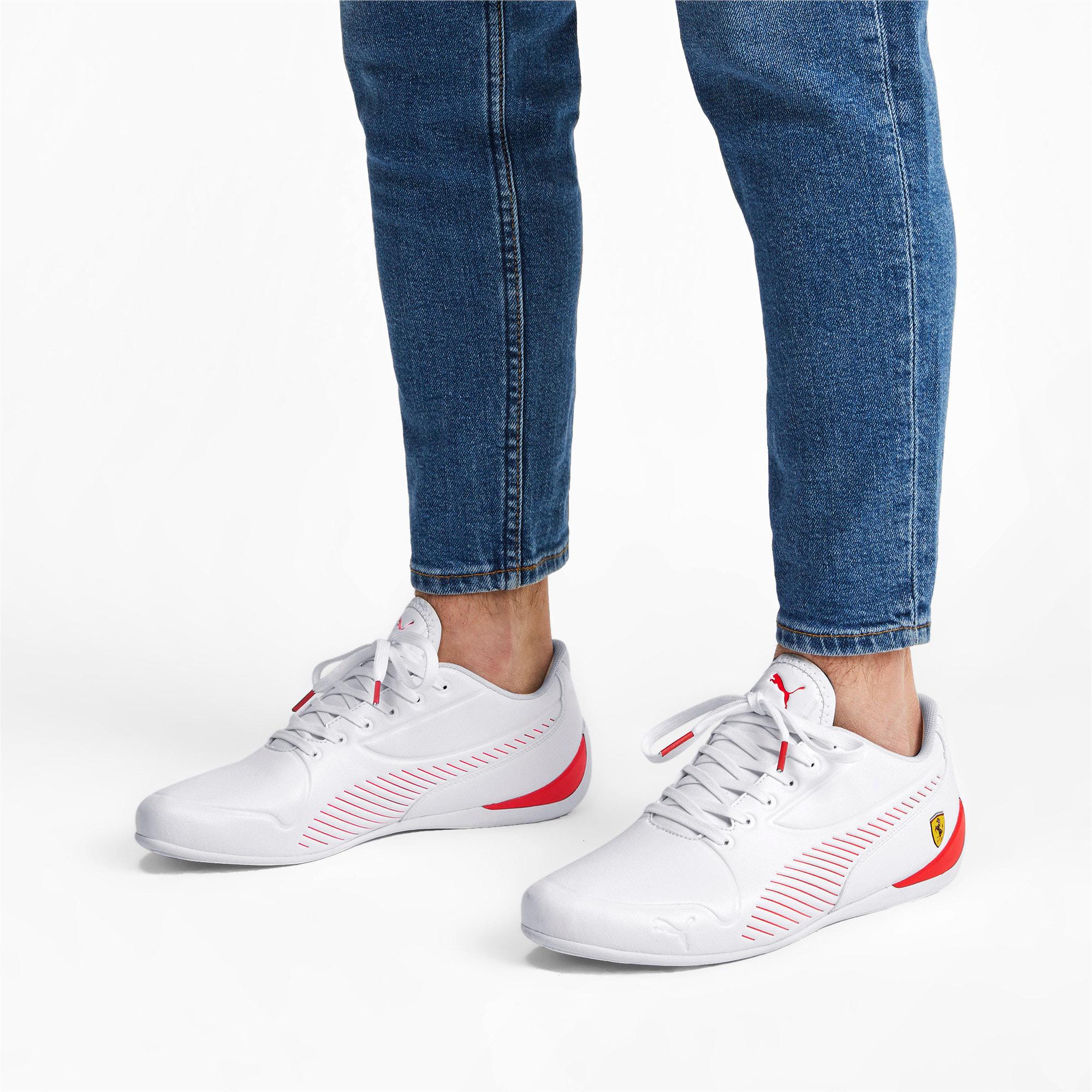 Thumbnail 3 of Scuderia Ferrari Drift Cat 7S Ultra Men's Shoes, Puma White-Rosso Corsa, medium