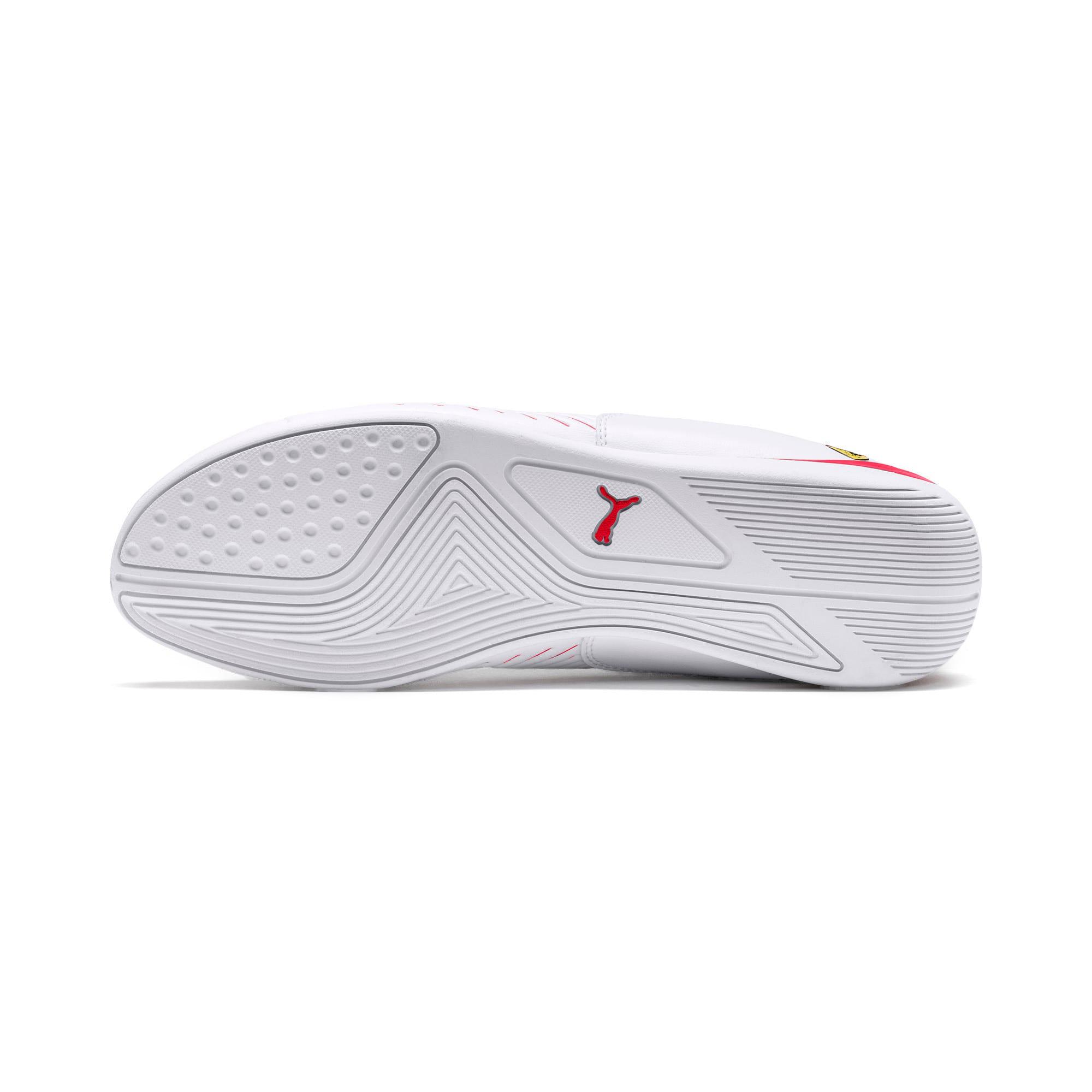 Thumbnail 4 of Scuderia Ferrari Drift Cat 7S Ultra Men's Shoes, Puma White-Rosso Corsa, medium