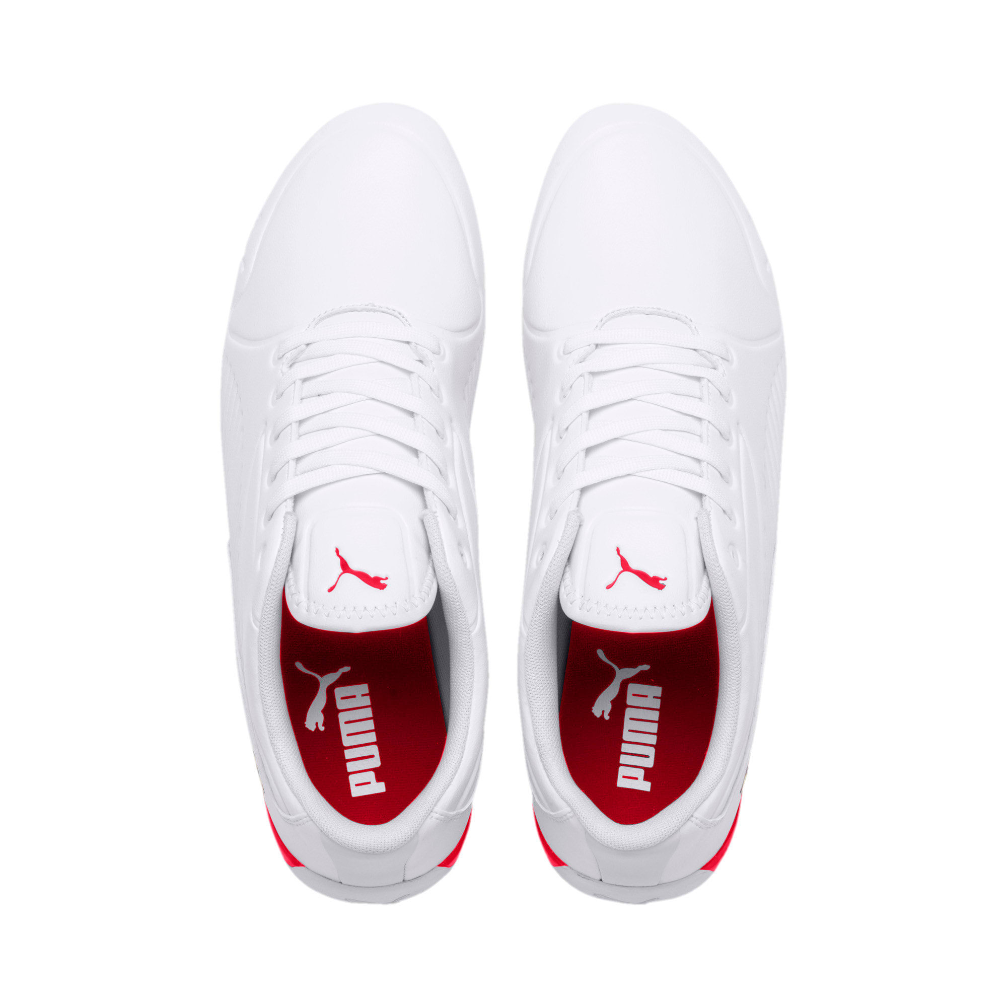 Thumbnail 7 of Scuderia Ferrari Drift Cat 7S Ultra Men's Shoes, Puma White-Rosso Corsa, medium