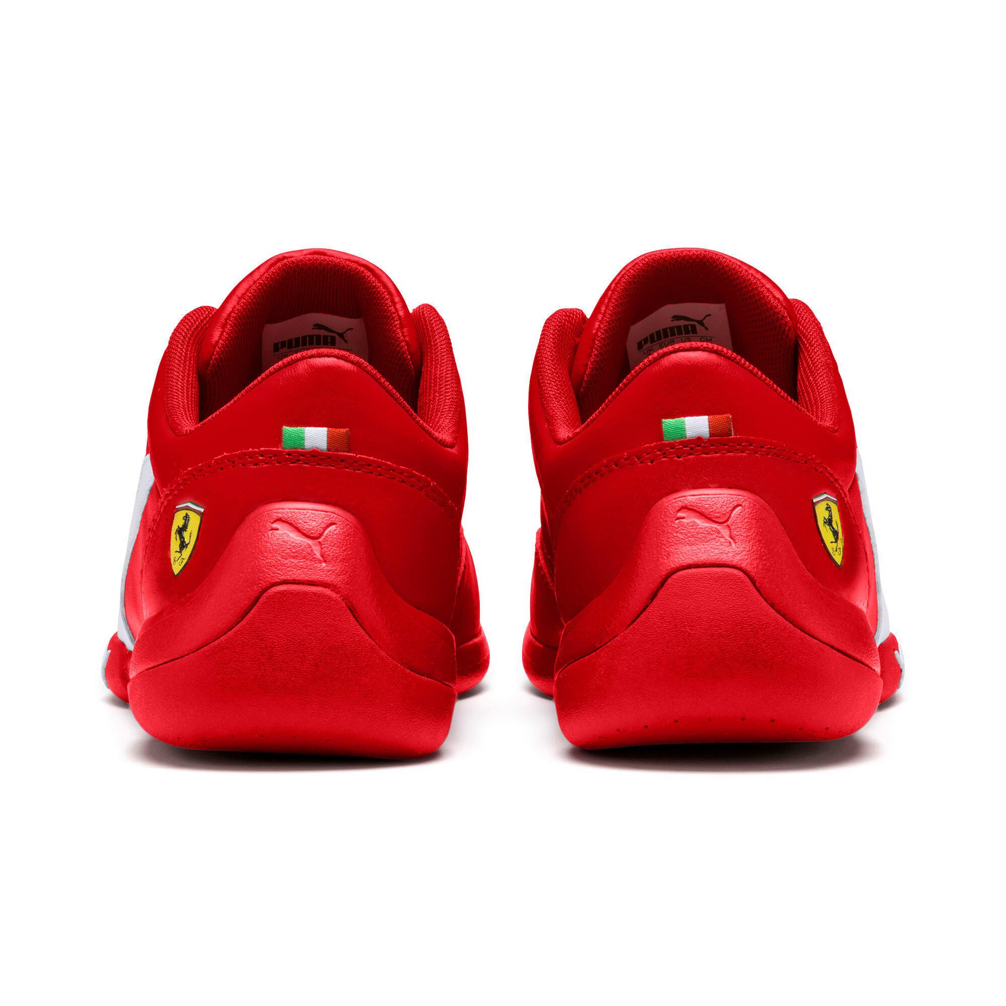 Miniatura 4 de Zapatos Scuderia Ferrari Kart Cat III JR, Rosso Corsa-Wht-Rosso Corsa, mediano