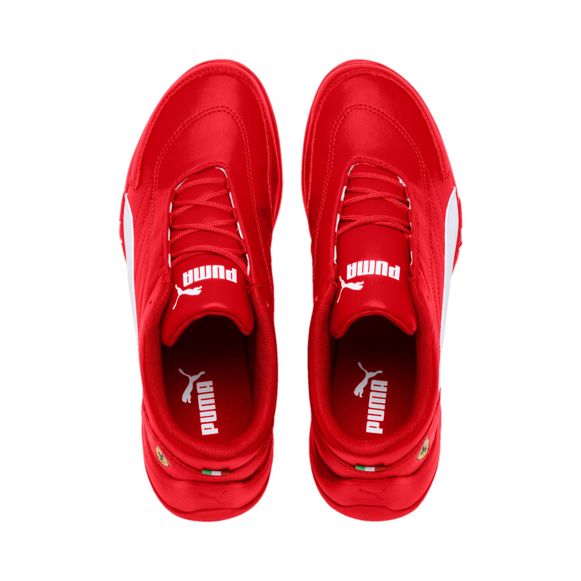 Miniatura 6 de Zapatos Scuderia Ferrari Kart Cat III JR, Rosso Corsa-Wht-Rosso Corsa, mediano