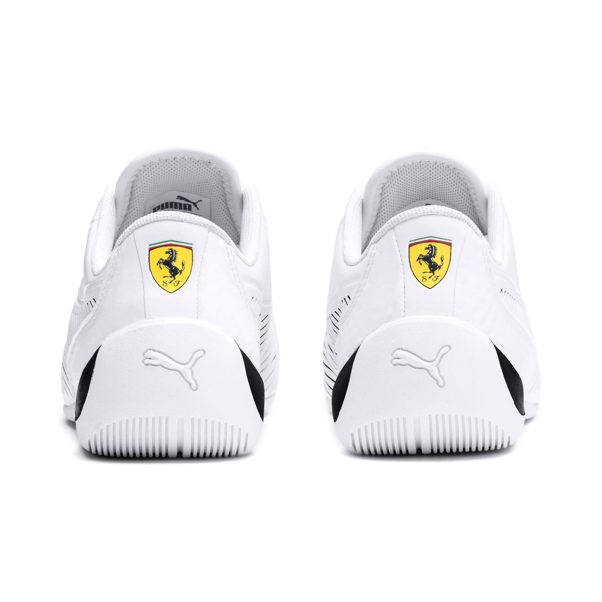 Thumbnail 3 of Ferrari Drift Cat 7S Ultra Youth Sneaker, Puma White-Puma Black, medium