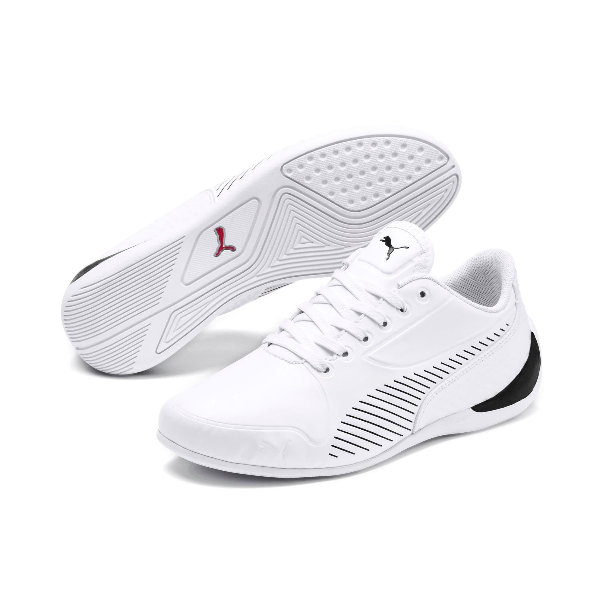 Thumbnail 2 of Ferrari Drift Cat 7S Ultra Youth Sneaker, Puma White-Puma Black, medium
