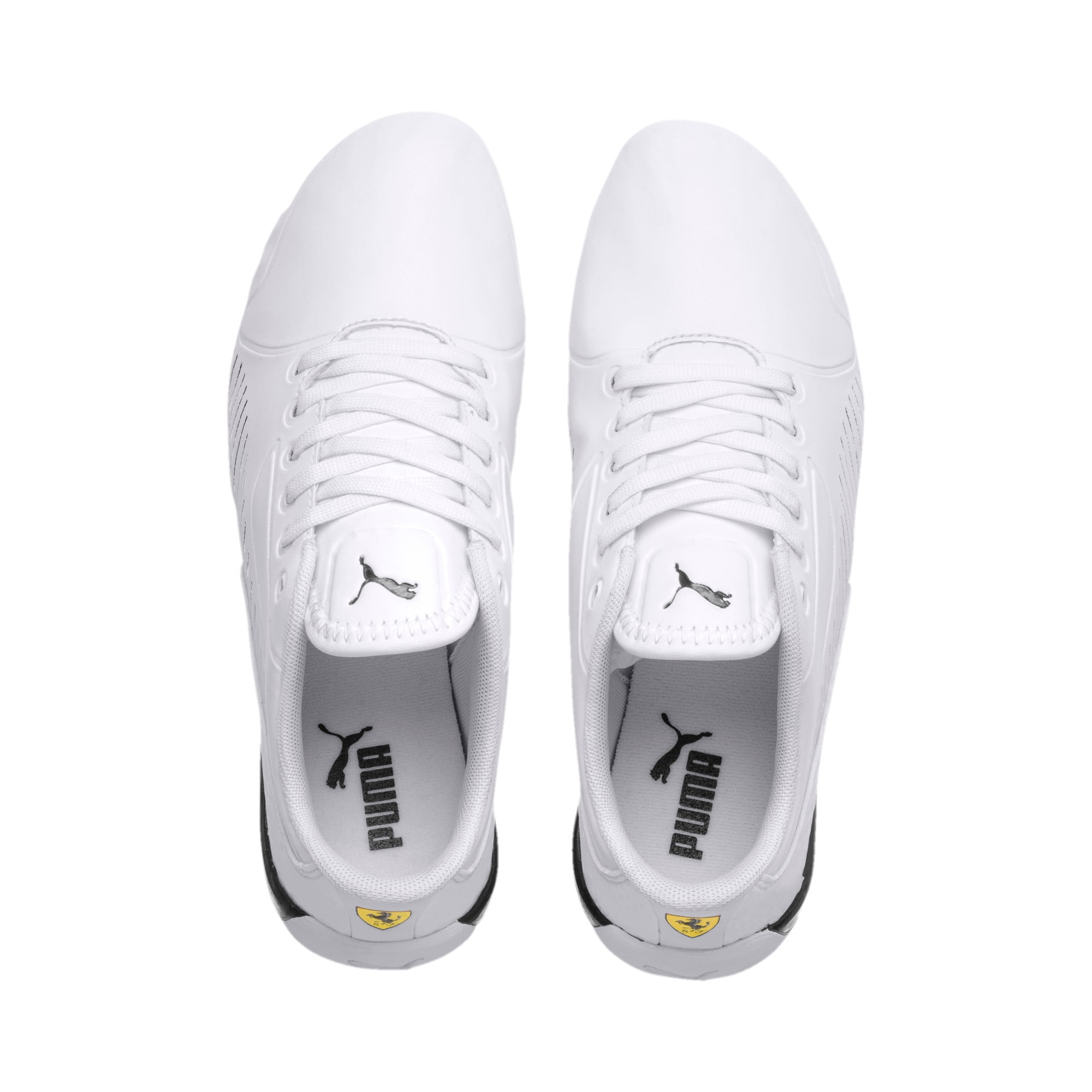 Thumbnail 6 of Ferrari Drift Cat 7S Ultra Youth Sneaker, Puma White-Puma Black, medium