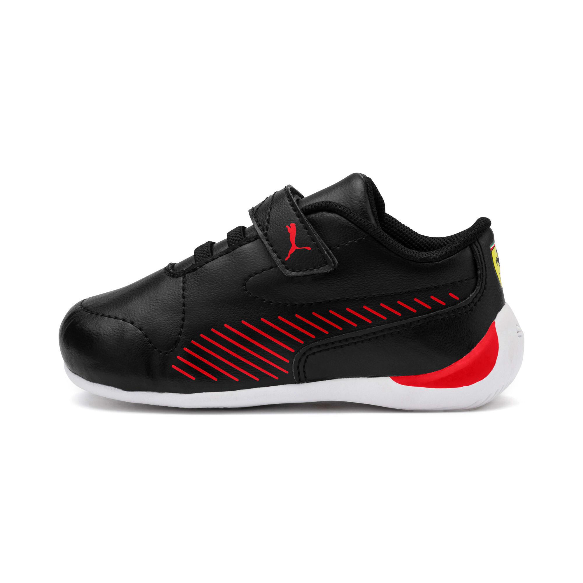 Thumbnail 1 of Ferrari Drift Cat 7S Ultra Kids Sneaker, Puma Black-Rosso Corsa, medium