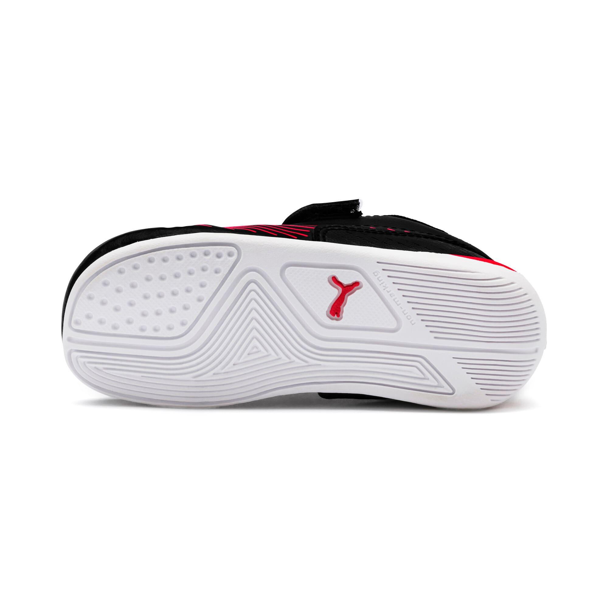 Thumbnail 4 of Ferrari Drift Cat 7S Ultra Kids Sneaker, Puma Black-Rosso Corsa, medium