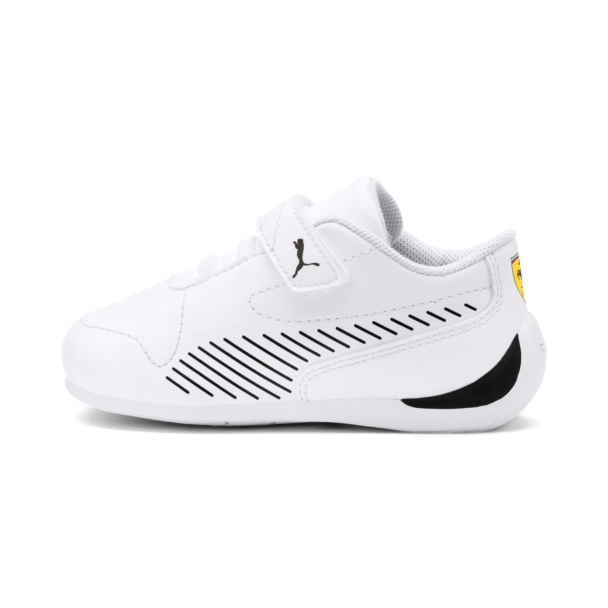 Thumbnail 1 of Ferrari Drift Cat 7S Ultra Kids Sneaker, Puma White-Puma Black, medium