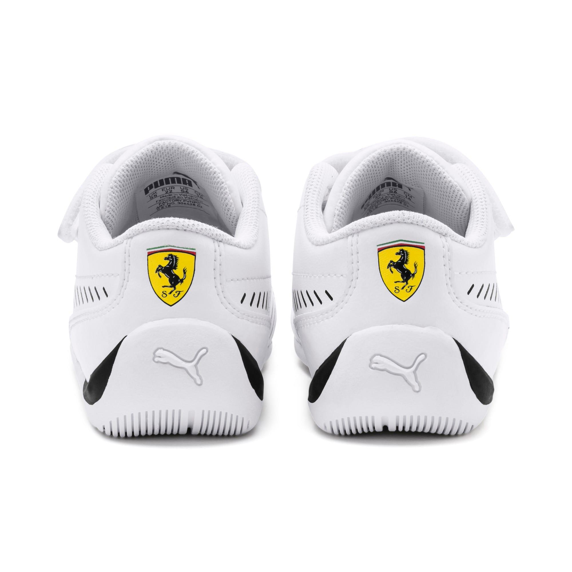 Thumbnail 3 of Scuderia Ferrari Drift Cat 7S Ultra Toddler Shoes, Puma White-Puma Black, medium