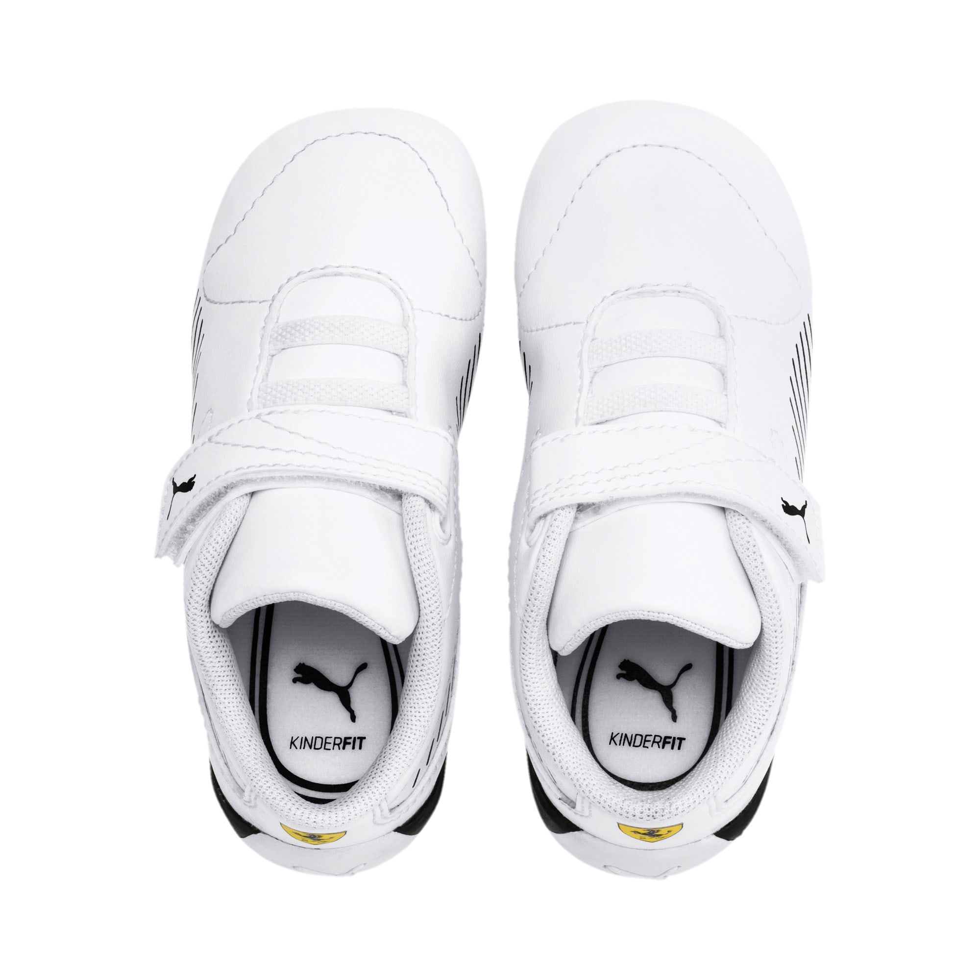 Thumbnail 6 of Scuderia Ferrari Drift Cat 7S Ultra Toddler Shoes, Puma White-Puma Black, medium