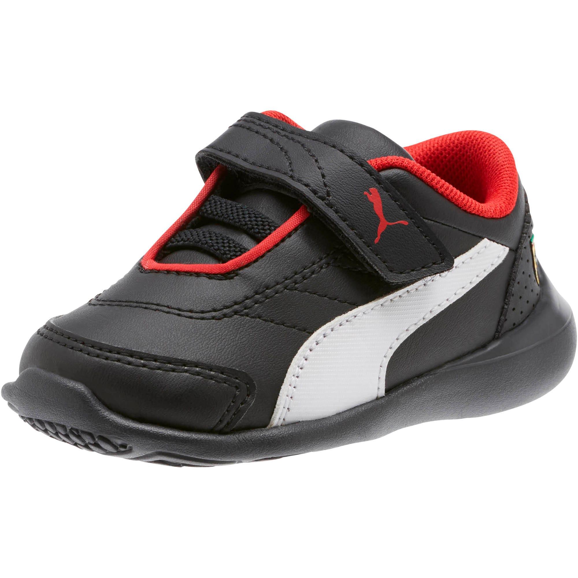 Miniatura 1 de Zapatos Scuderia Ferrari Kart Cat III para bebés, Puma Black-Puma White, mediano
