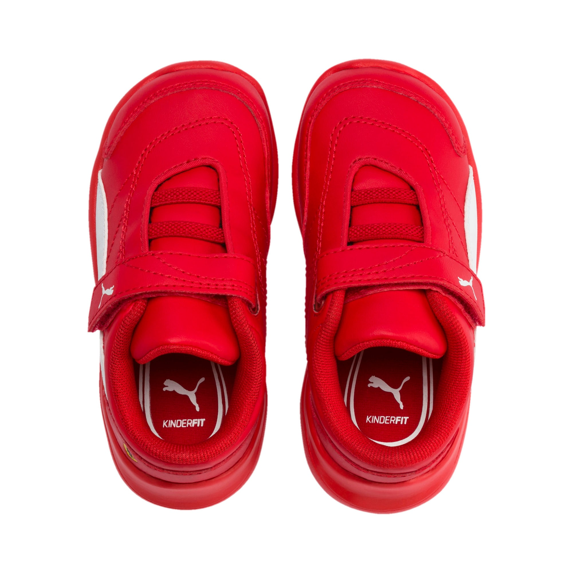 Thumbnail 6 of Scuderia Ferrari Kart Cat III Toddler Shoes, Rosso Corsa-Wht-Rosso Corsa, medium