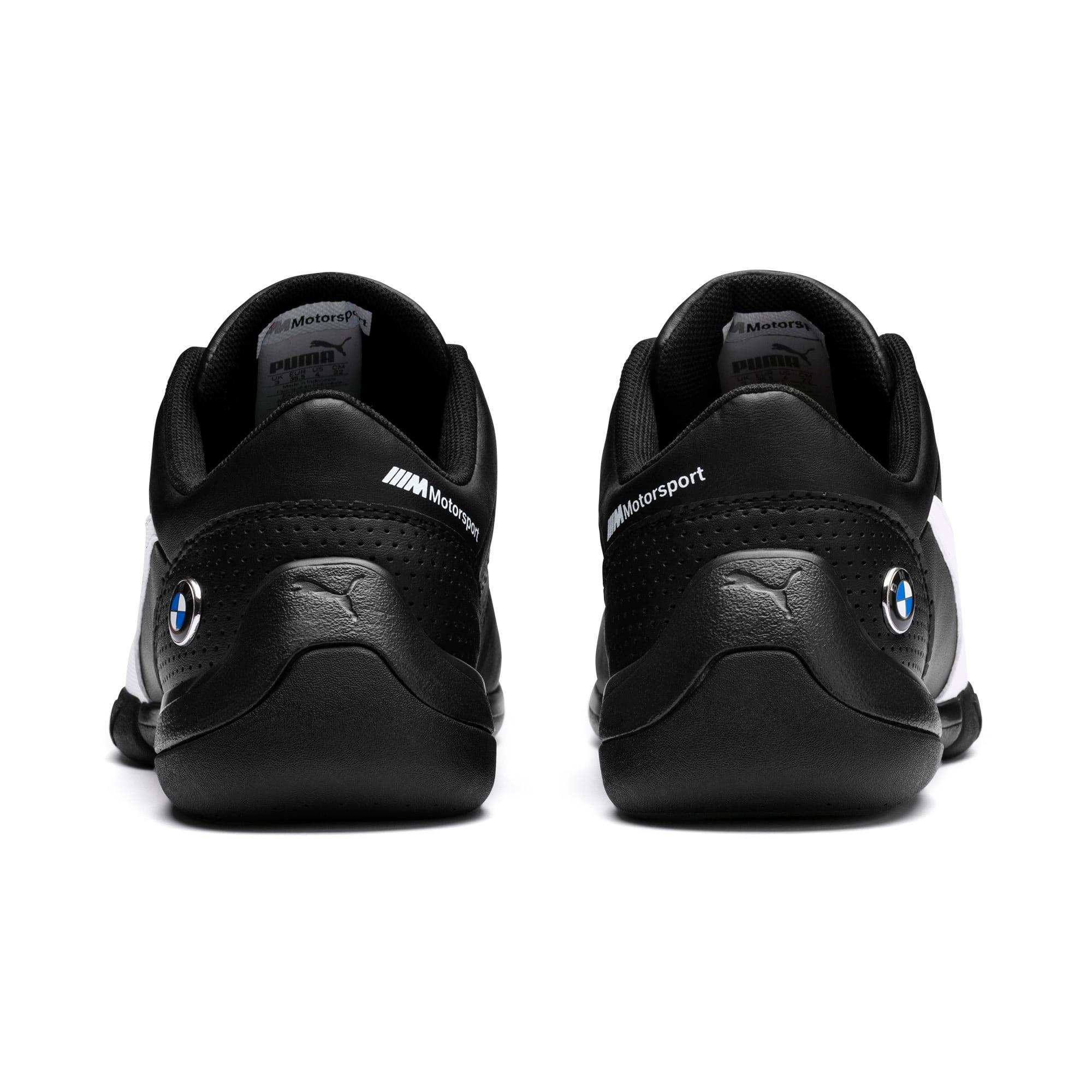 Thumbnail 4 of BMW MMS Kart Cat III Shoes JR, Puma Black-Puma White, medium