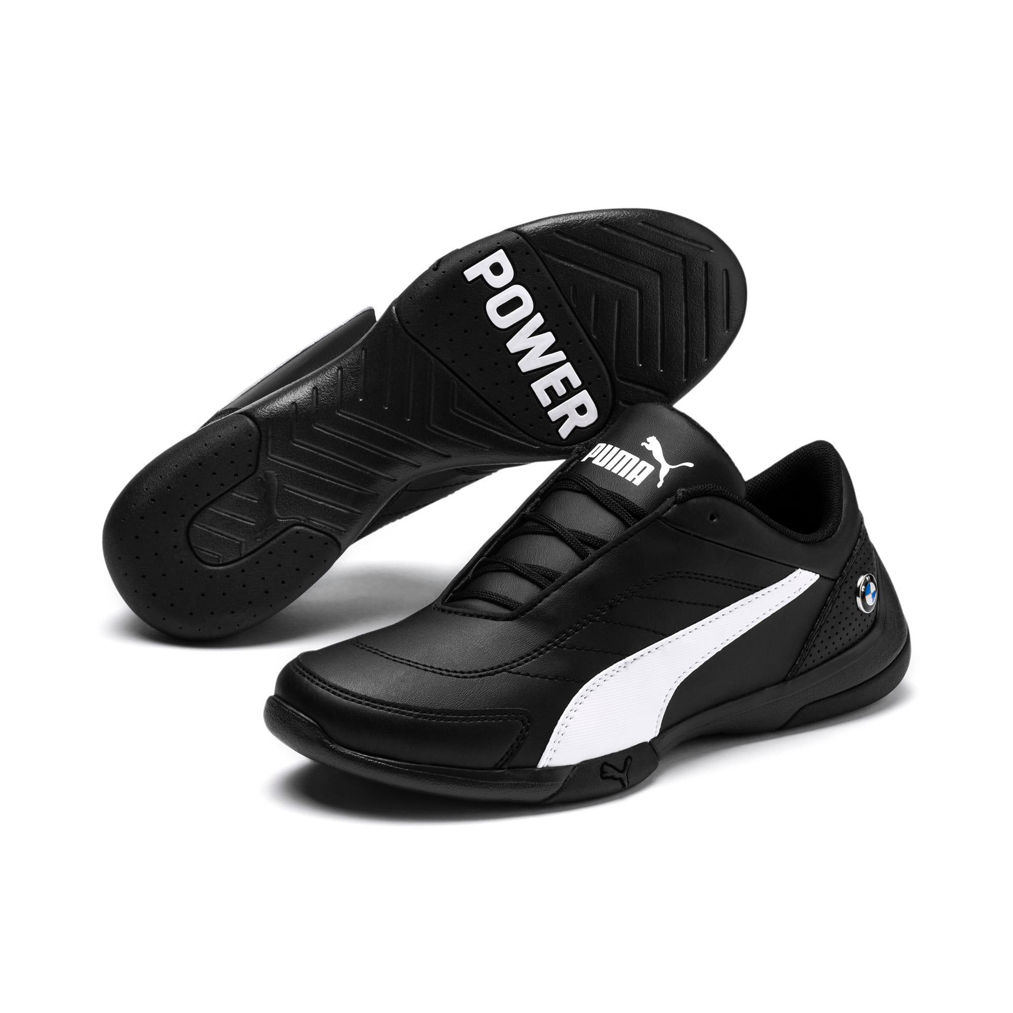 Thumbnail 2 of BMW MMS Kart Cat III Shoes JR, Puma Black-Puma White, medium