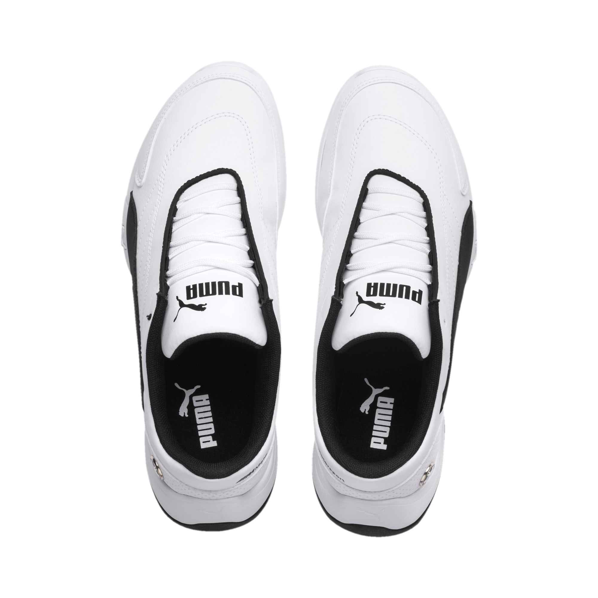 Thumbnail 6 of BMW MMS Kart Cat III Shoes JR, Puma White-Puma Black, medium
