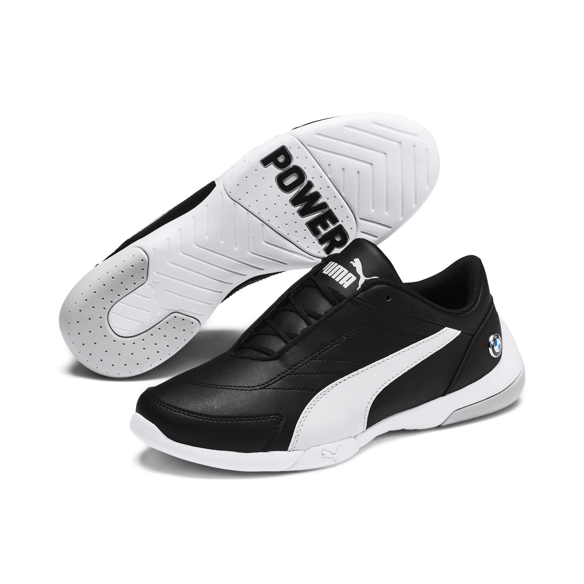 Thumbnail 2 of BMW MMS Kart Cat III Shoes JR, Puma Black-Gray Violet, medium