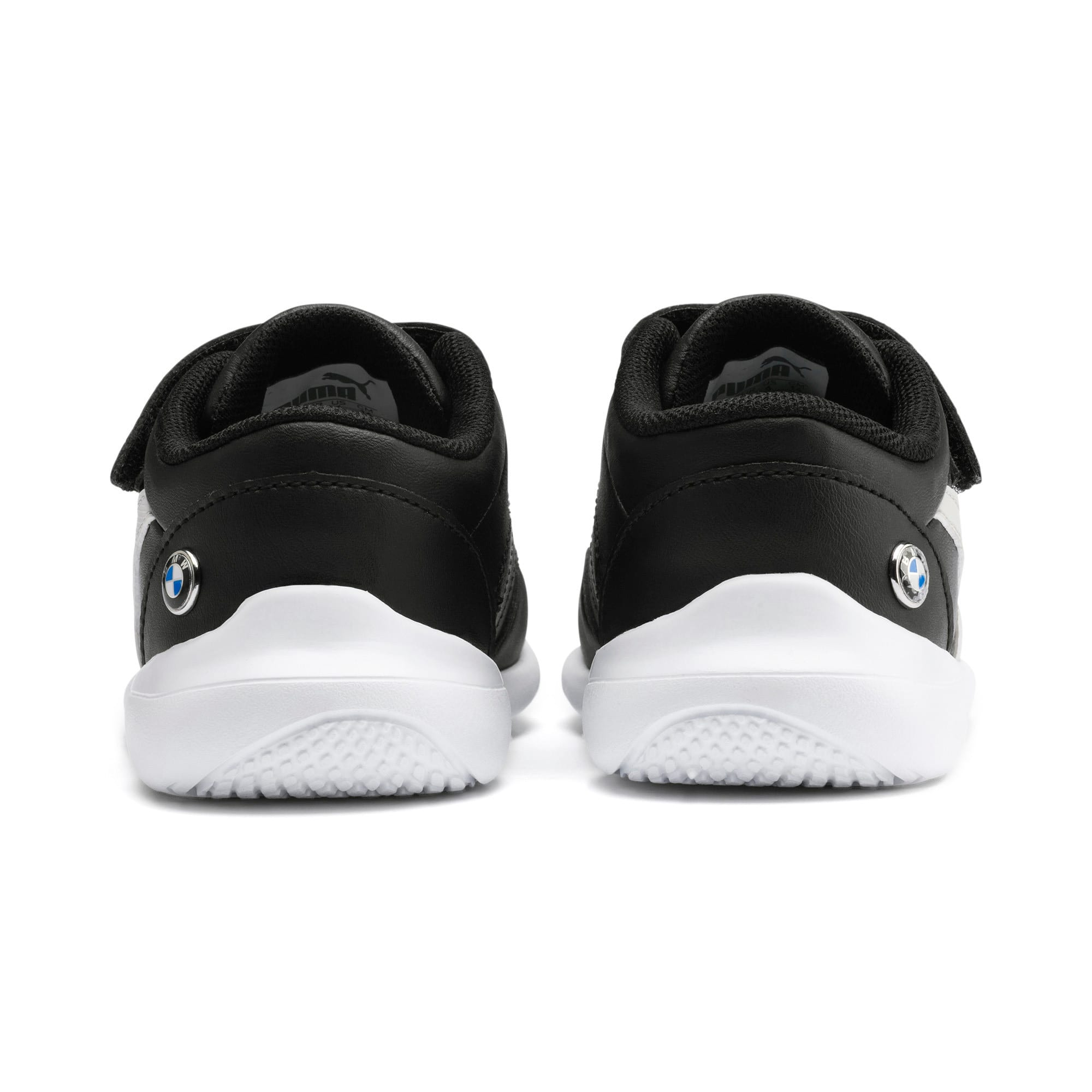 Thumbnail 3 of BMW M Motorsport Kart Cat III Toddler Shoes, Puma Black-Gray Violet, medium