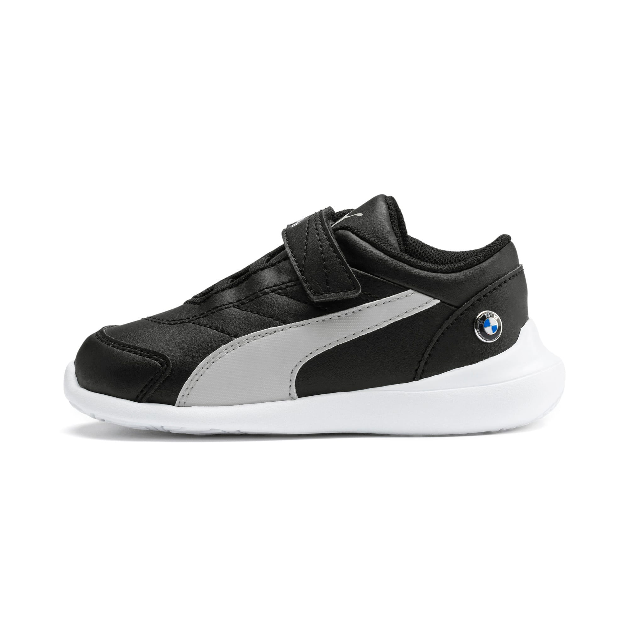 Thumbnail 1 of BMW M Motorsport Kart Cat III Toddler Shoes, Puma Black-Gray Violet, medium