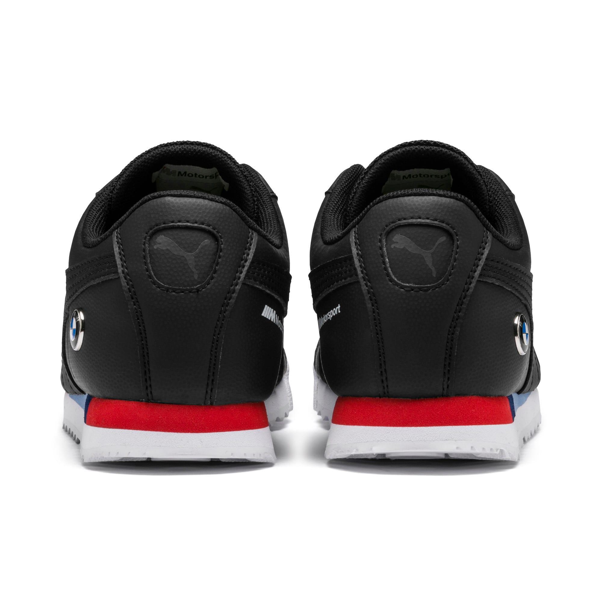 Thumbnail 3 of BMW M Motorsport Roma Sneakers JR, Puma Black-Puma Black, medium