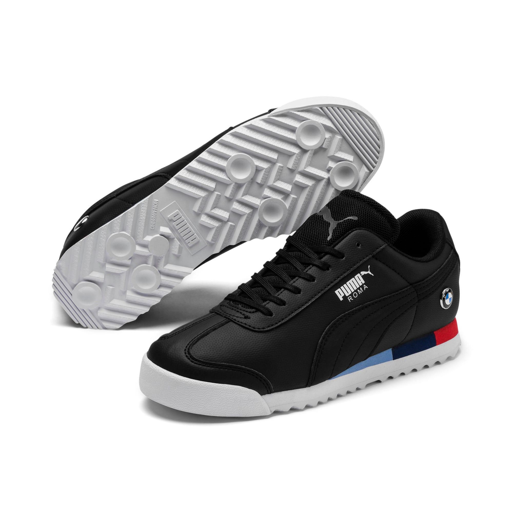 Thumbnail 2 of BMW M Motorsport Roma Sneakers JR, Puma Black-Puma Black, medium