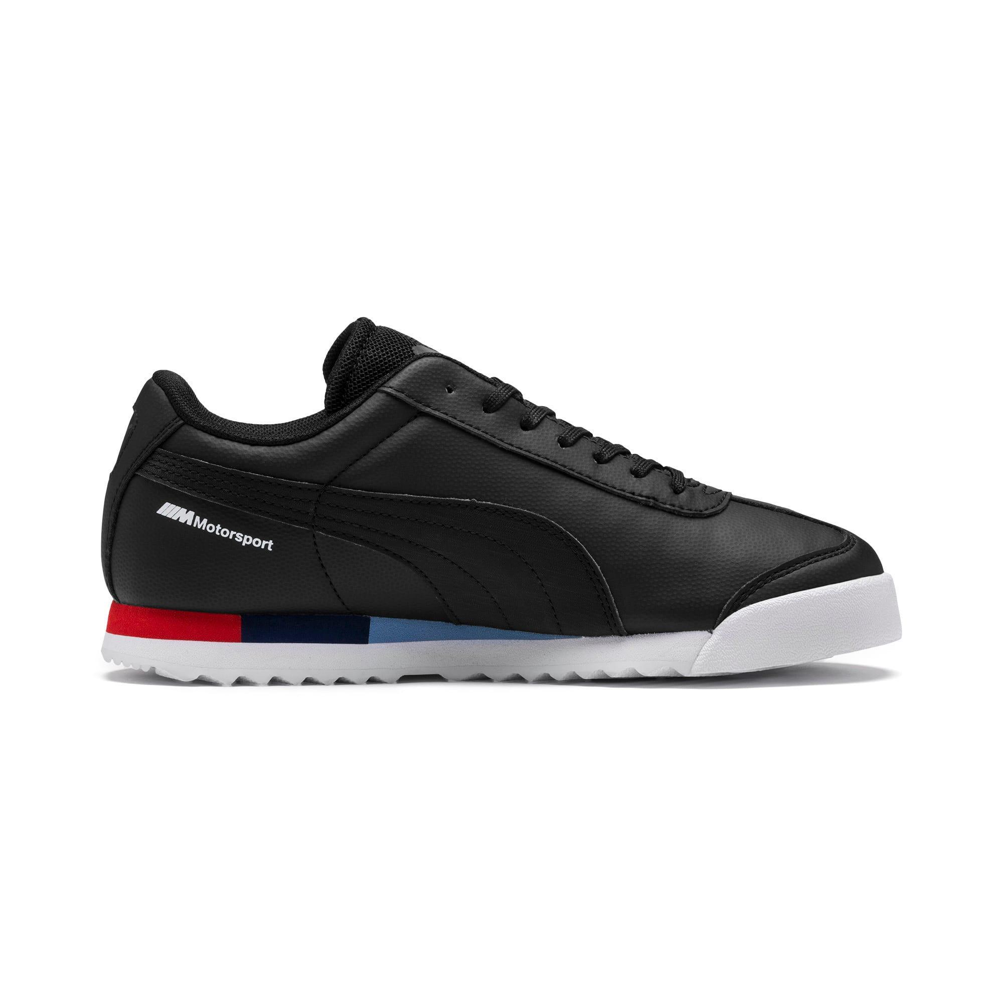 Thumbnail 5 of BMW M Motorsport Roma Sneakers JR, Puma Black-Puma Black, medium