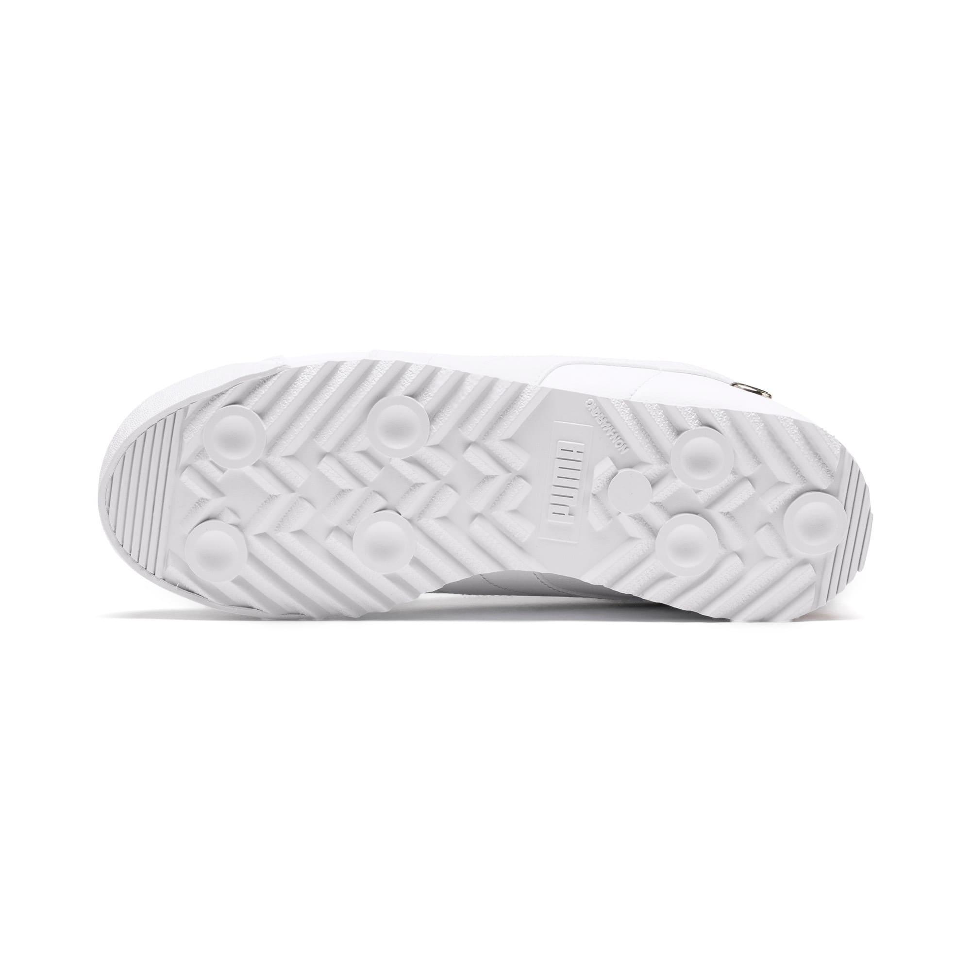 Thumbnail 3 of BMW M Motorsport Roma Sneakers JR, Puma White-Puma White, medium