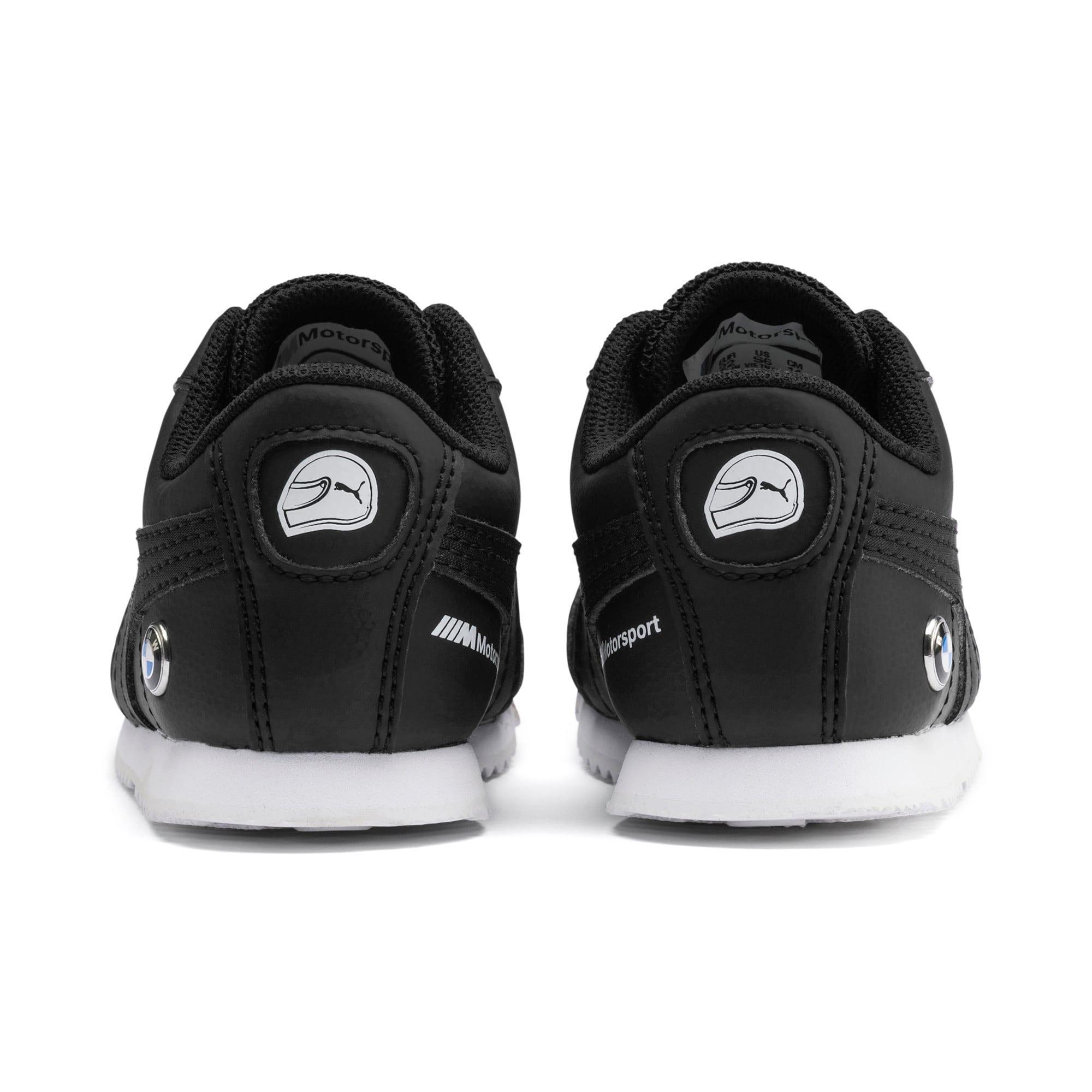 Thumbnail 3 of BMW M Motorsport Roma Toddler Shoes, Puma Black-Puma Black, medium