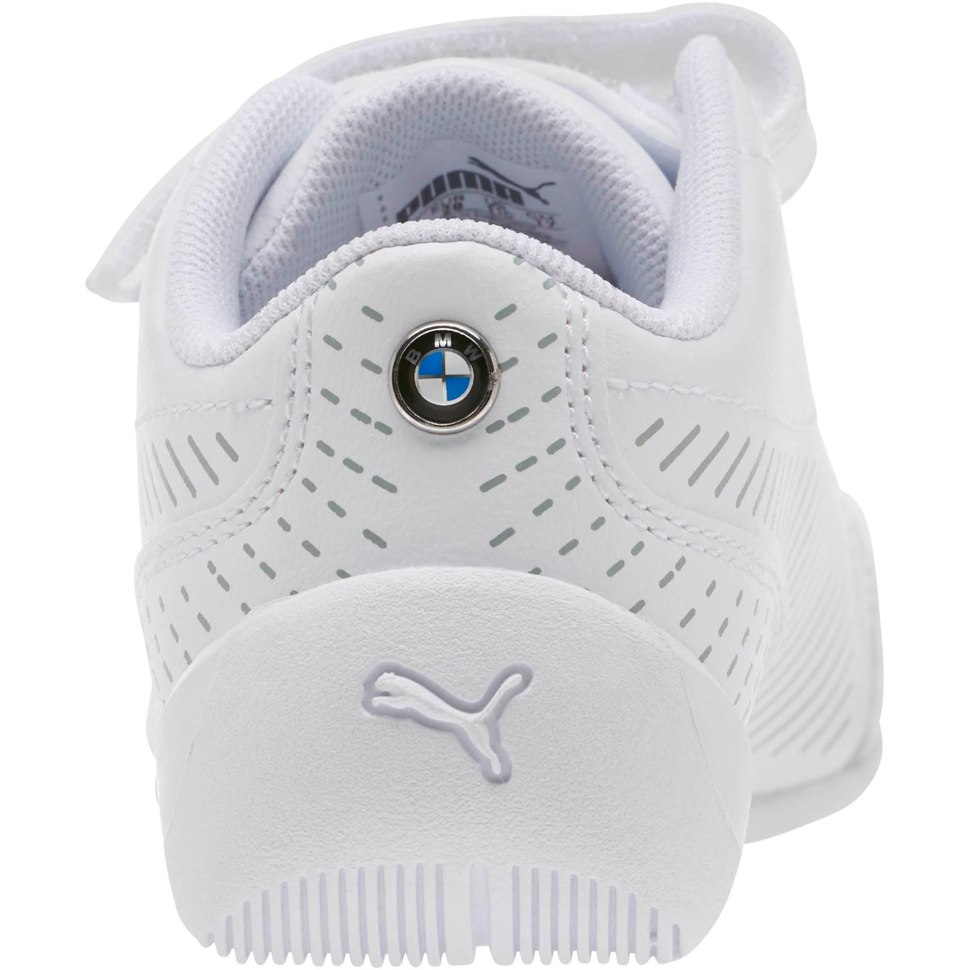 Thumbnail 3 of BMW MMS Drift Cat 7S Ultra Little Kids' Shoes, Puma White-Puma White, medium