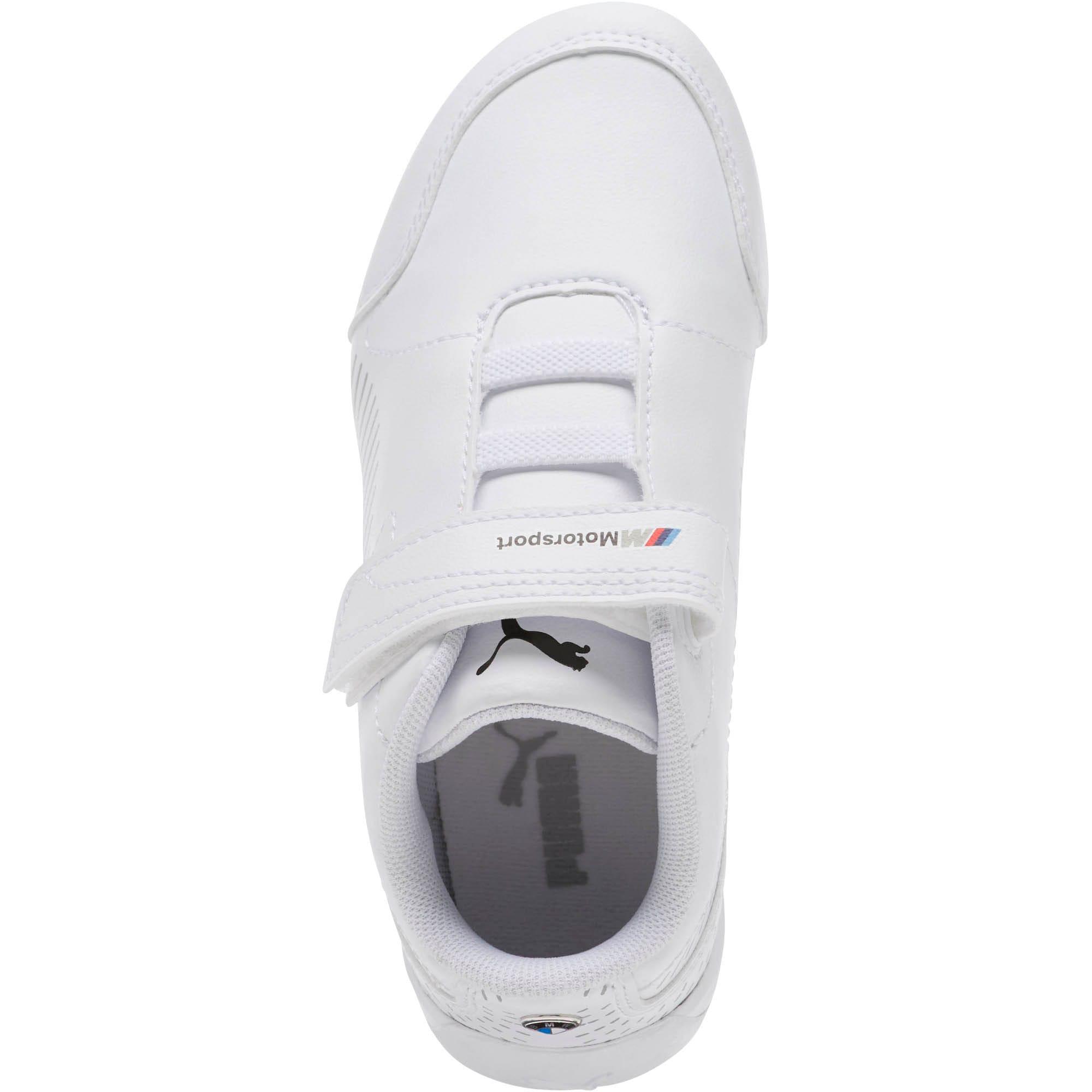 Thumbnail 5 of BMW MMS Drift Cat 7S Ultra Little Kids' Shoes, Puma White-Puma White, medium