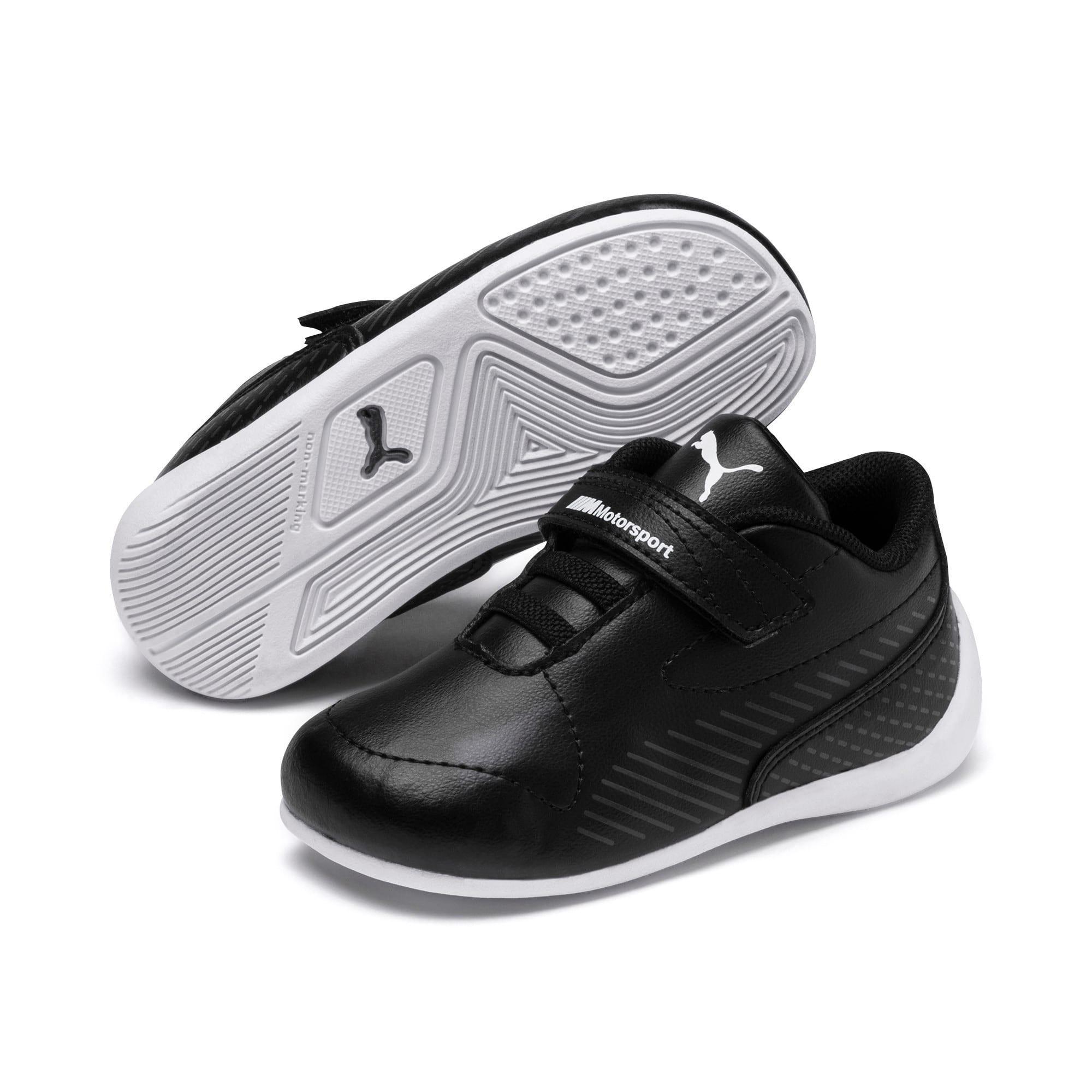 Thumbnail 1 of BMW MMS Drift Cat 7S Toddler Shoes, Puma Black-Puma Black, medium