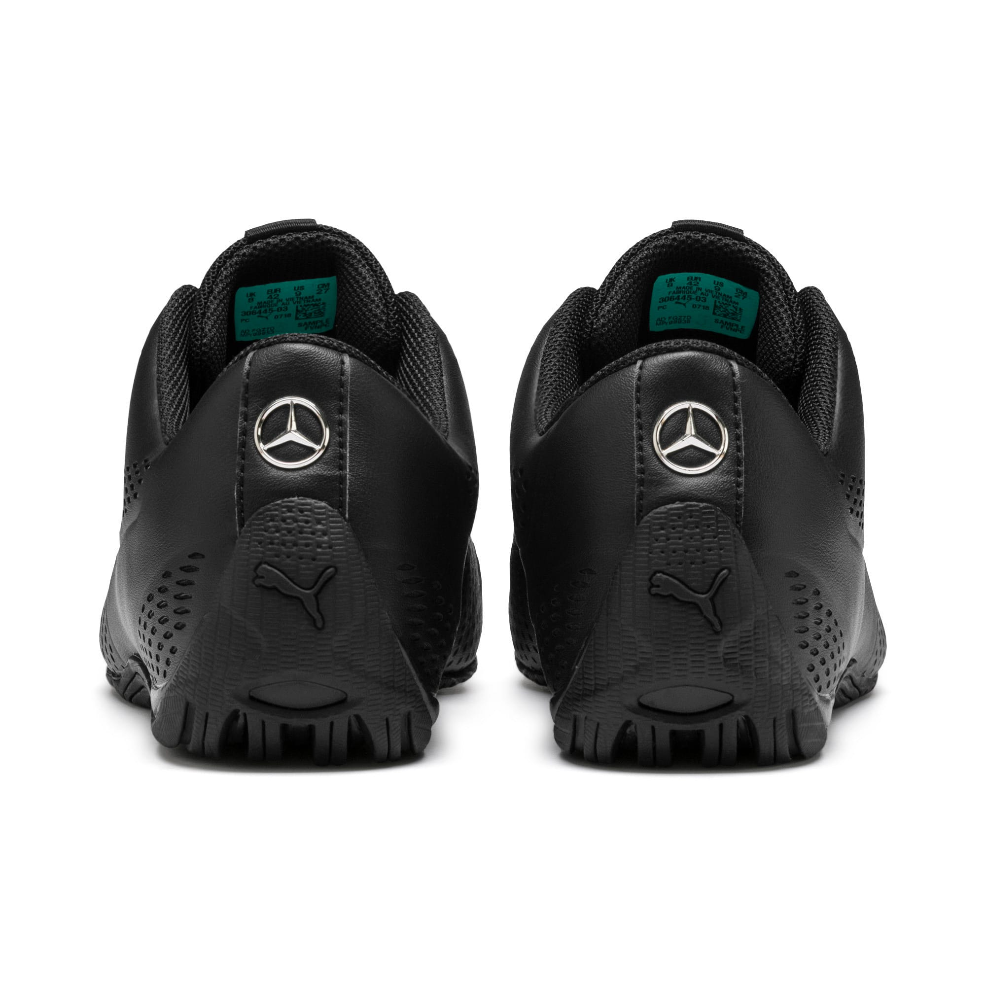 Thumbnail 4 of Mercedes AMG Petronas Drift Cat 5 Ultra II Trainers, Puma Black-Spectra Green, medium
