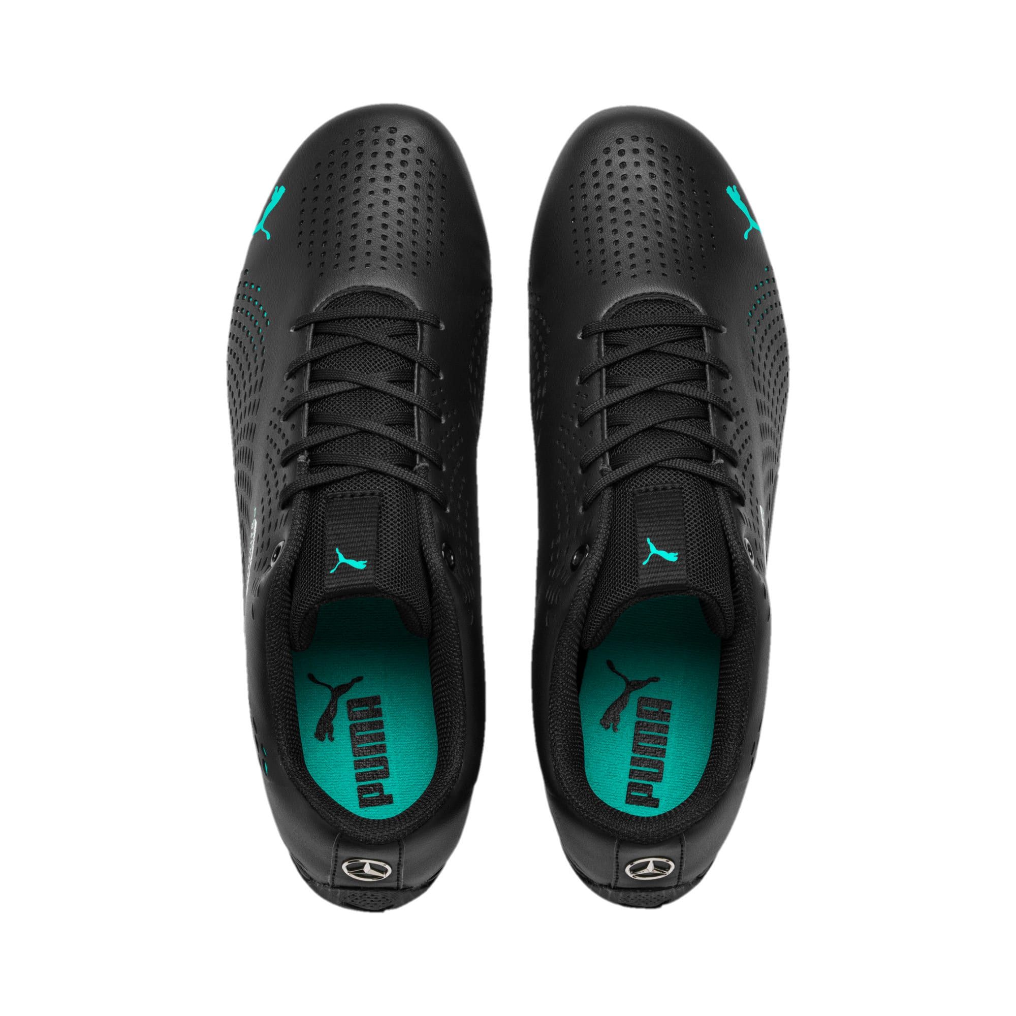 Thumbnail 7 of Mercedes AMG Petronas Drift Cat 5 Ultra II Shoes, Puma Black-Spectra Green, medium