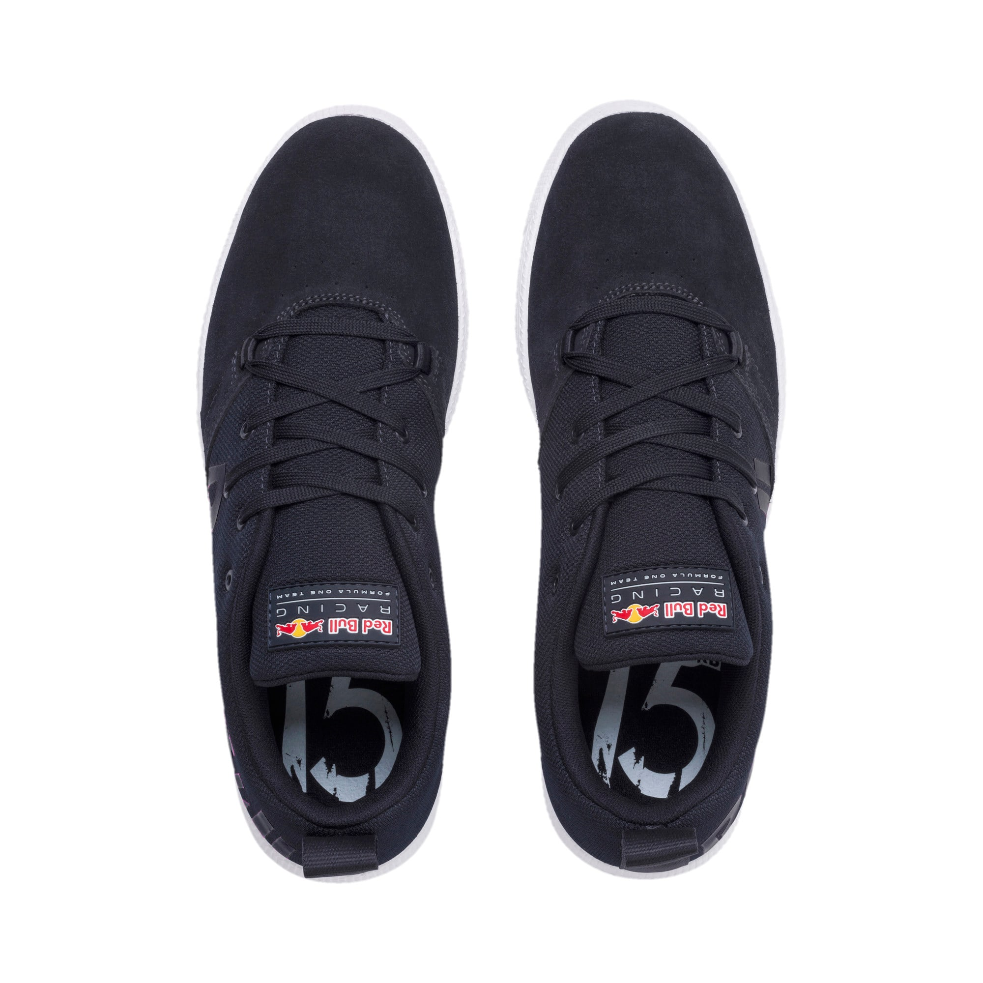 Thumbnail 6 of Red Bull Racing Cups Lo Trainers, NIGHT SKY-White-Chinese Red, medium-IND