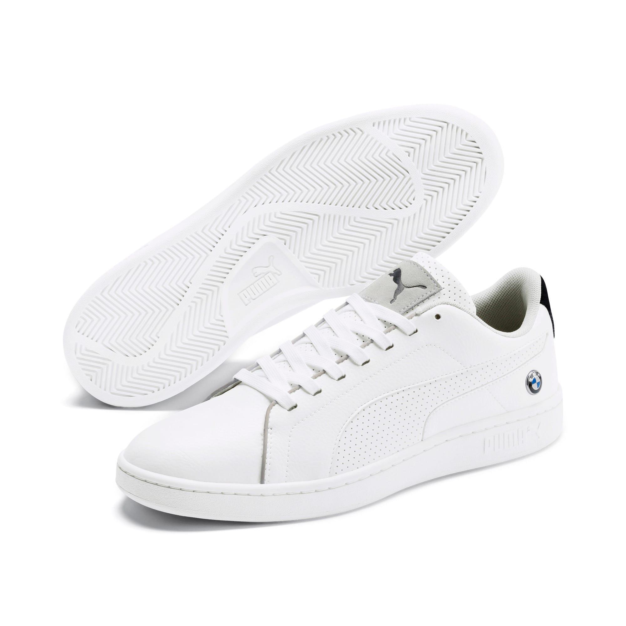 Miniatura 3 de Zapatos deportivos BMW M Motorsport Smash v2, Puma White-Puma White, mediano