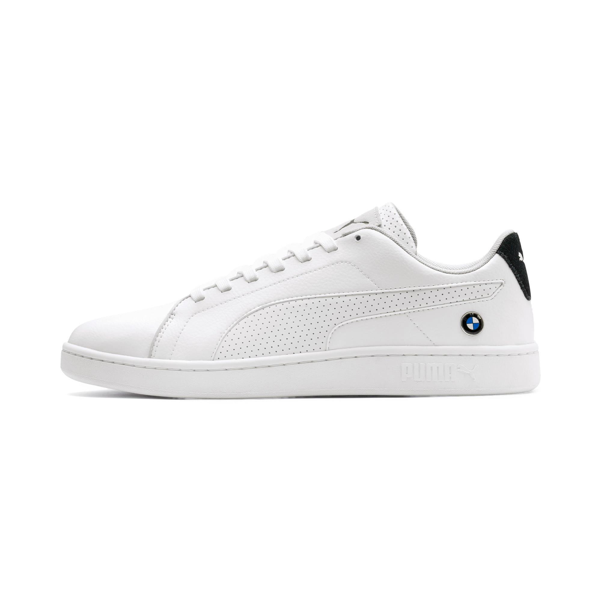 Miniatura 1 de Zapatos deportivos BMW M Motorsport Smash v2, Puma White-Puma White, mediano