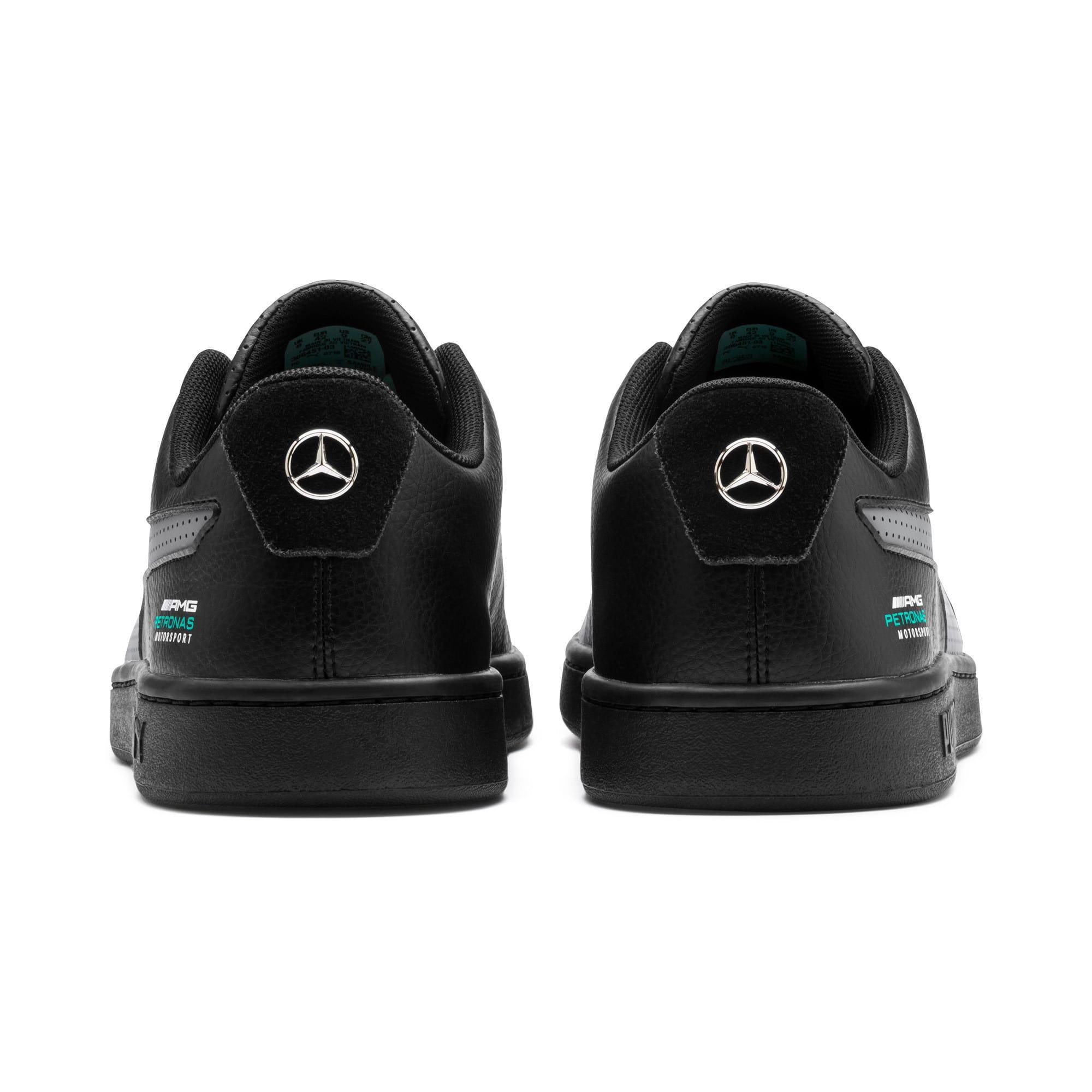 Thumbnail 4 of Mercedes AMG Petronas Smash v2 Sneakers, Black-Smkd Pearl-Spectra Grn, medium