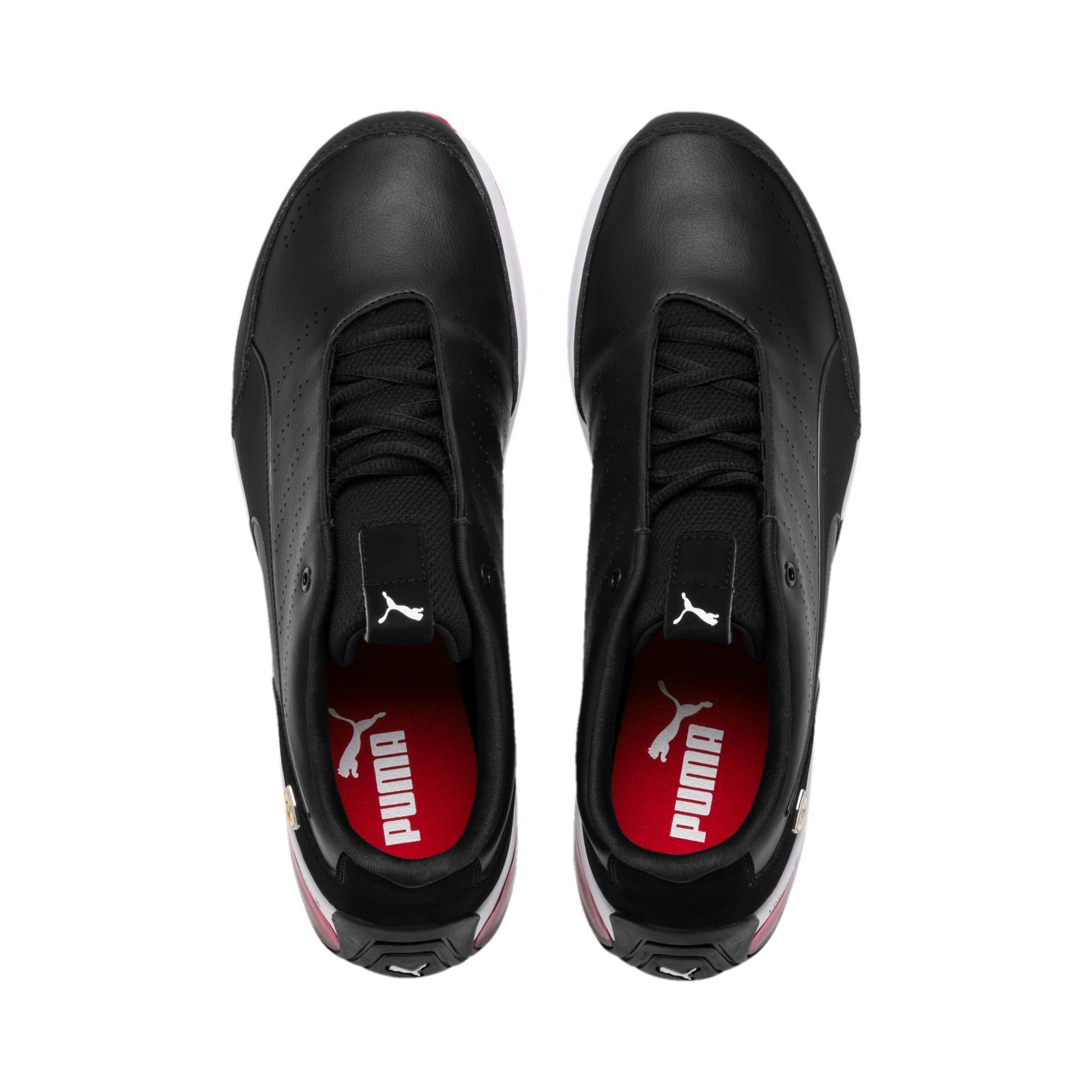 Thumbnail 7 of Scuderia Ferrari Kart Cat X Training Shoes, Puma Black-Puma Black, medium